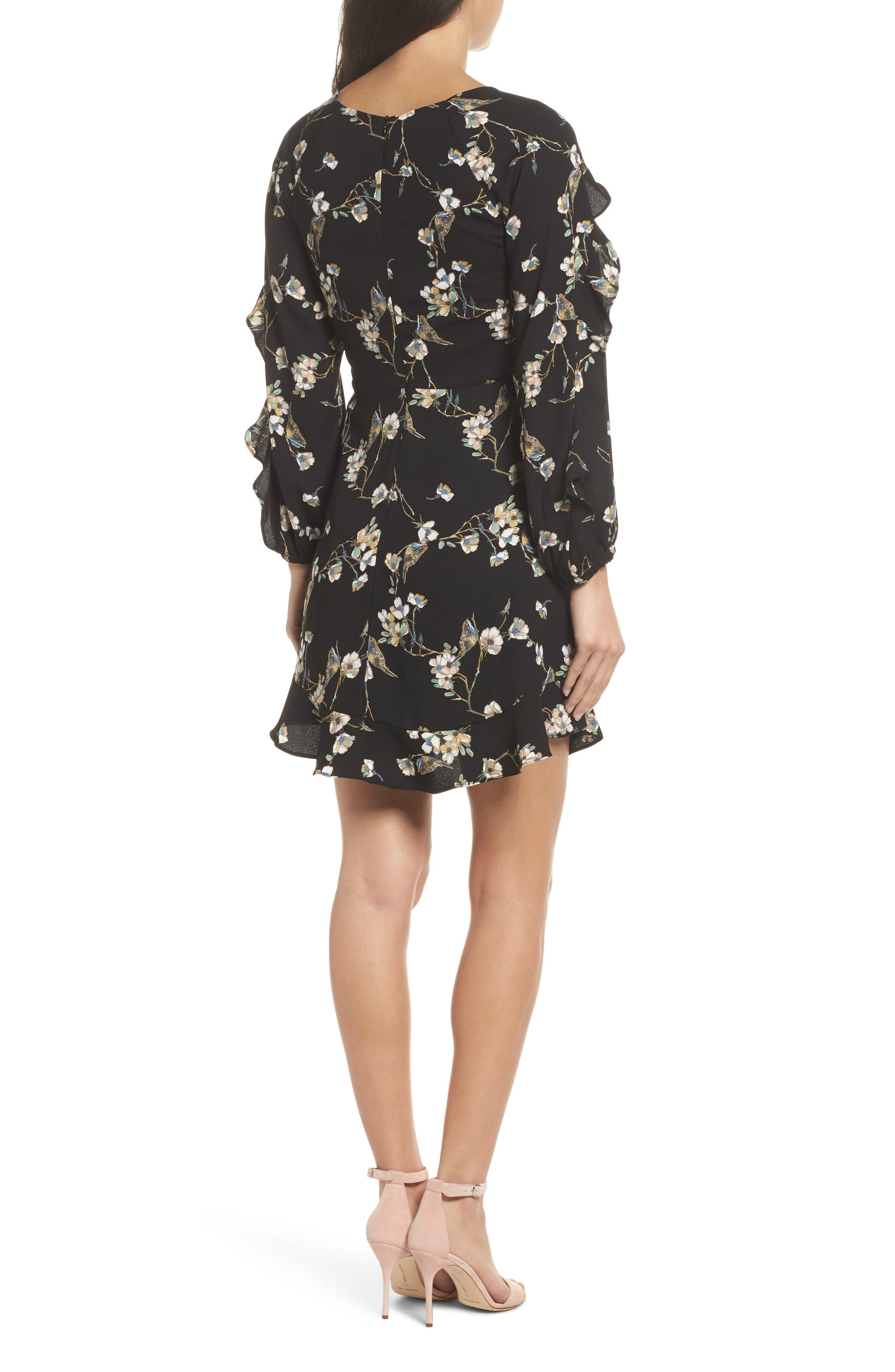Alternate Image 2  - 19 Cooper Ruffle Hem Dress