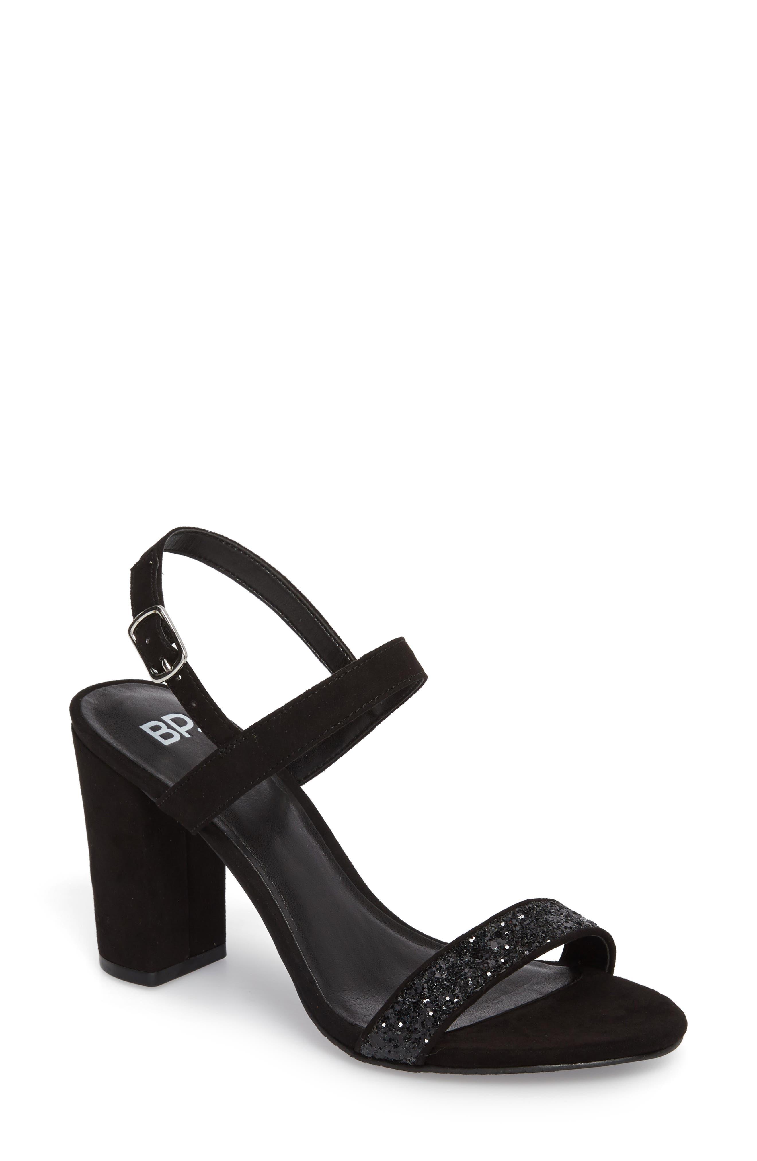 BP. Lula Block Heel Slingback Sandal (Women)