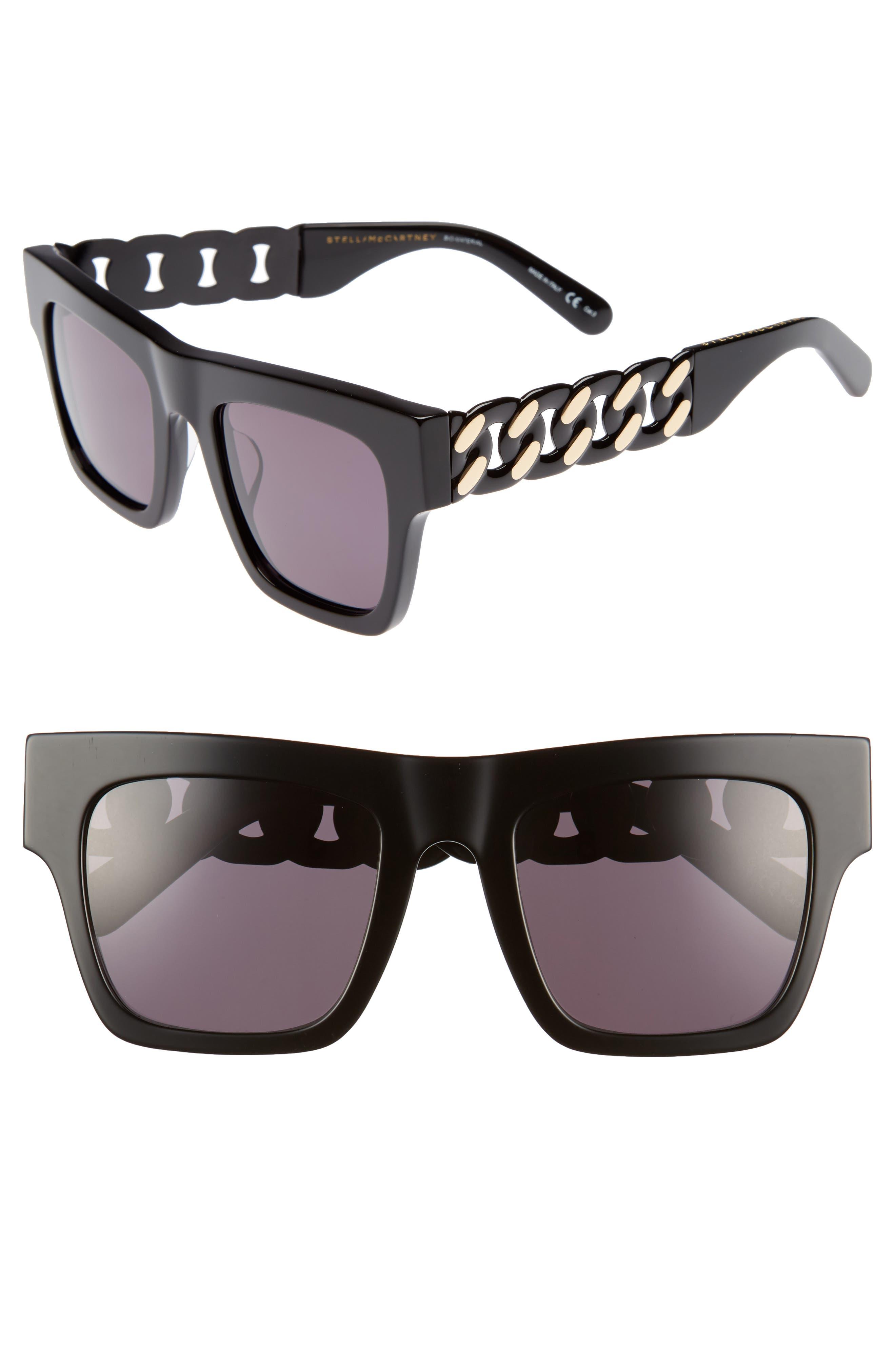 Main Image - Stella McCartney 51mm Square Sunglasses