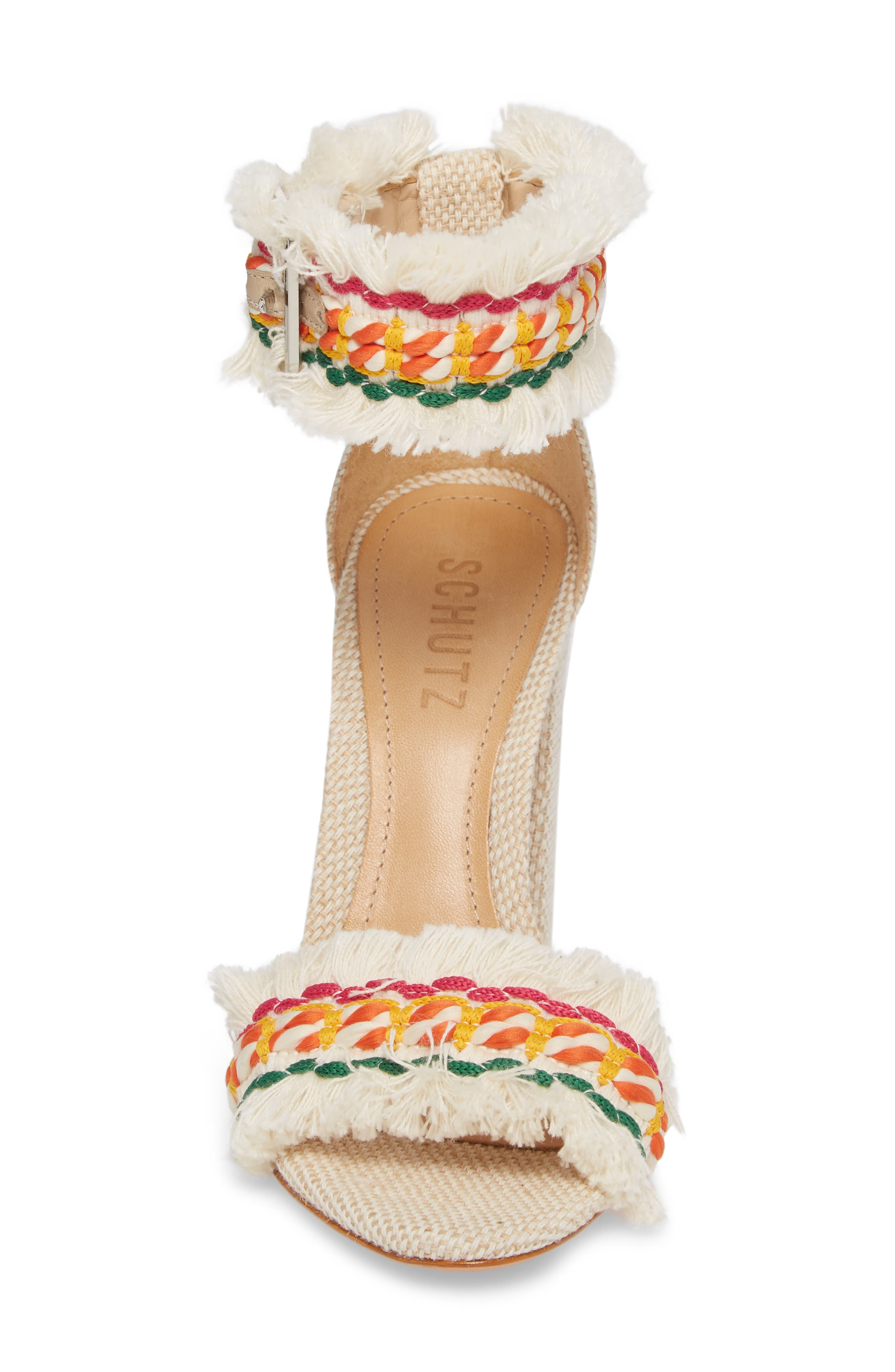 Alternate Image 4  - Schutz Zoola Block Heel Sandal (Women)