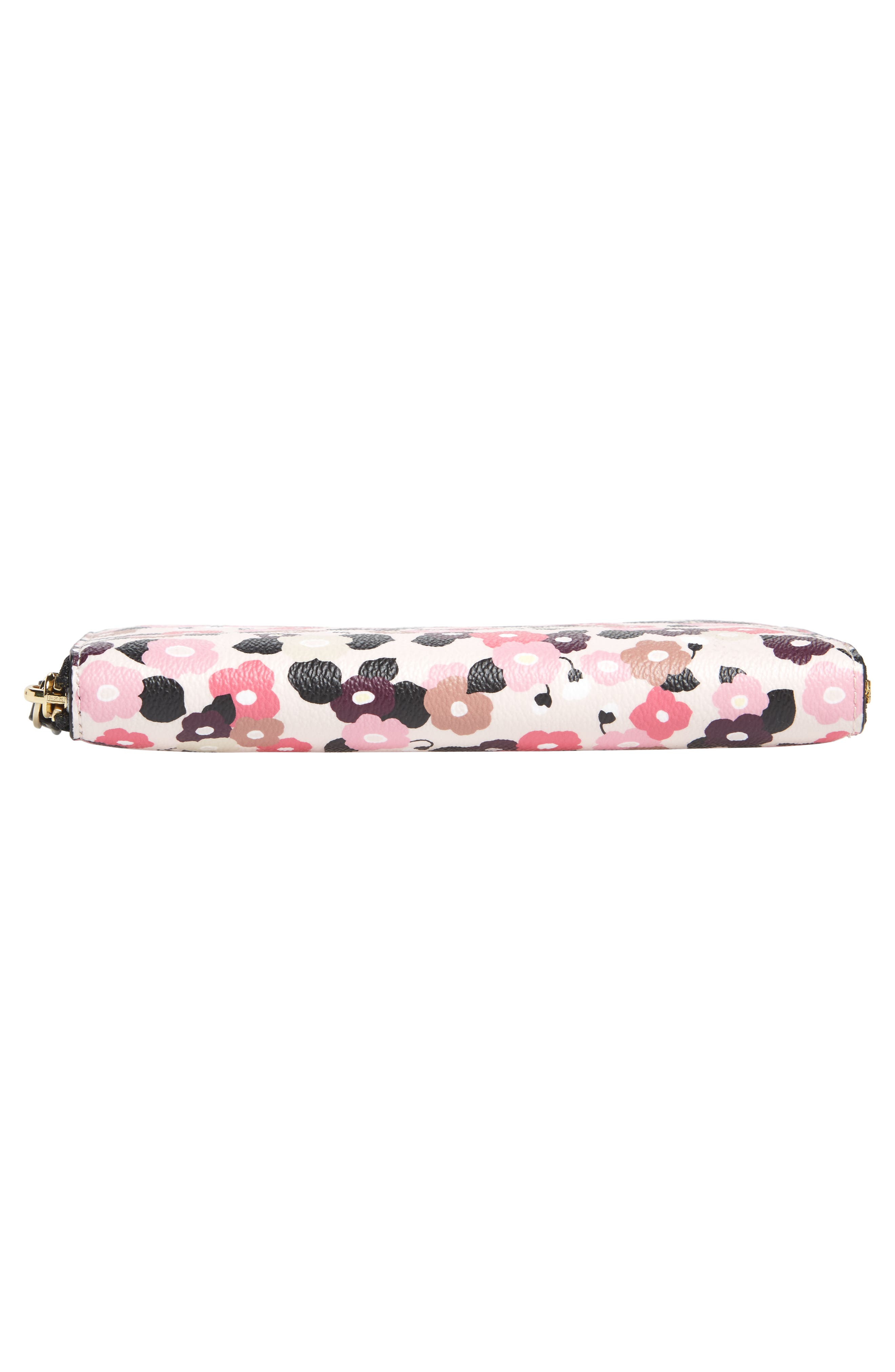 Alternate Image 6  - kate spade new york hyde lane michele floral faux leather wallet