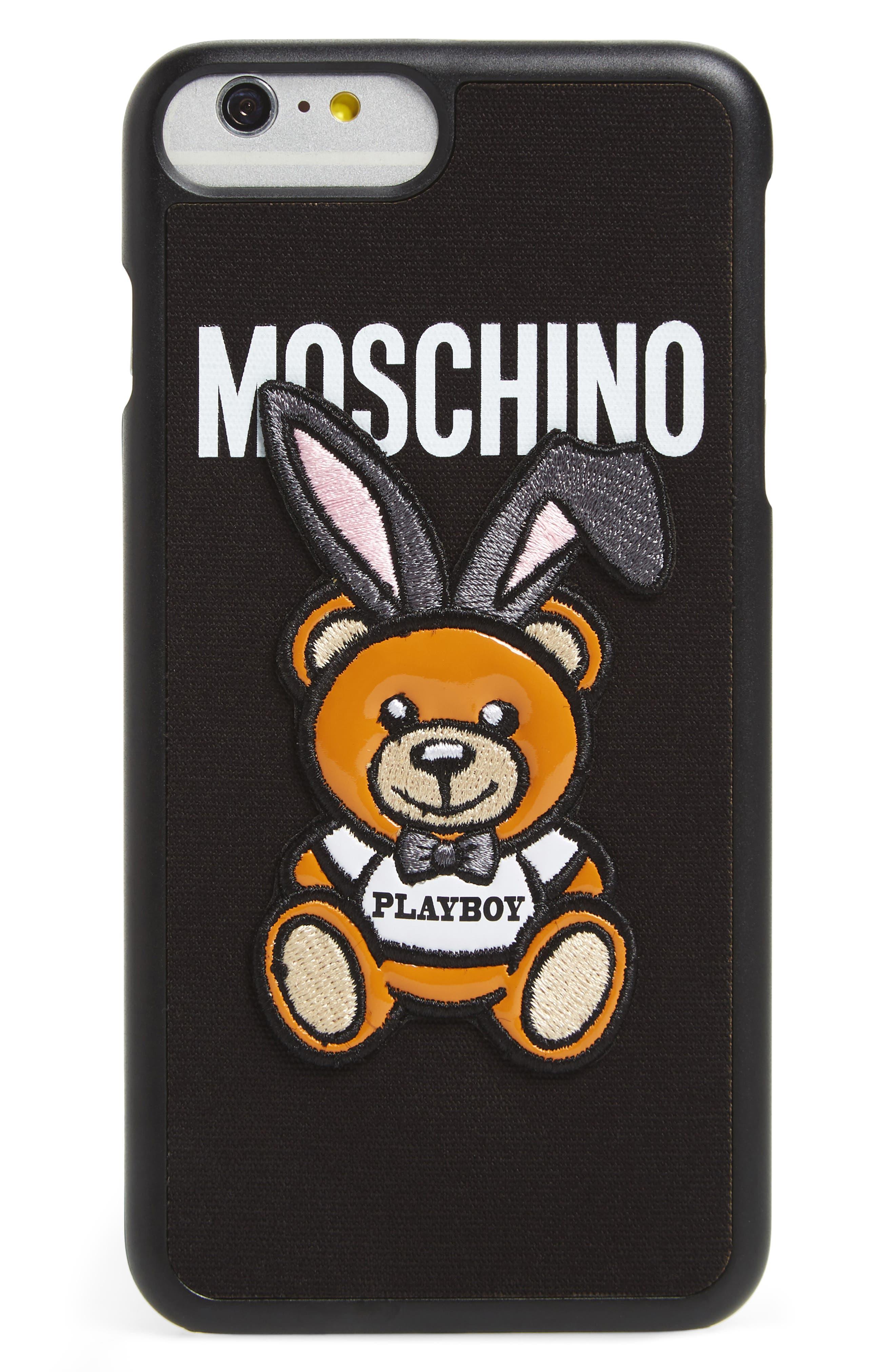 Moschino x Playboy Bunny Bear iPhone 7 Plus Case