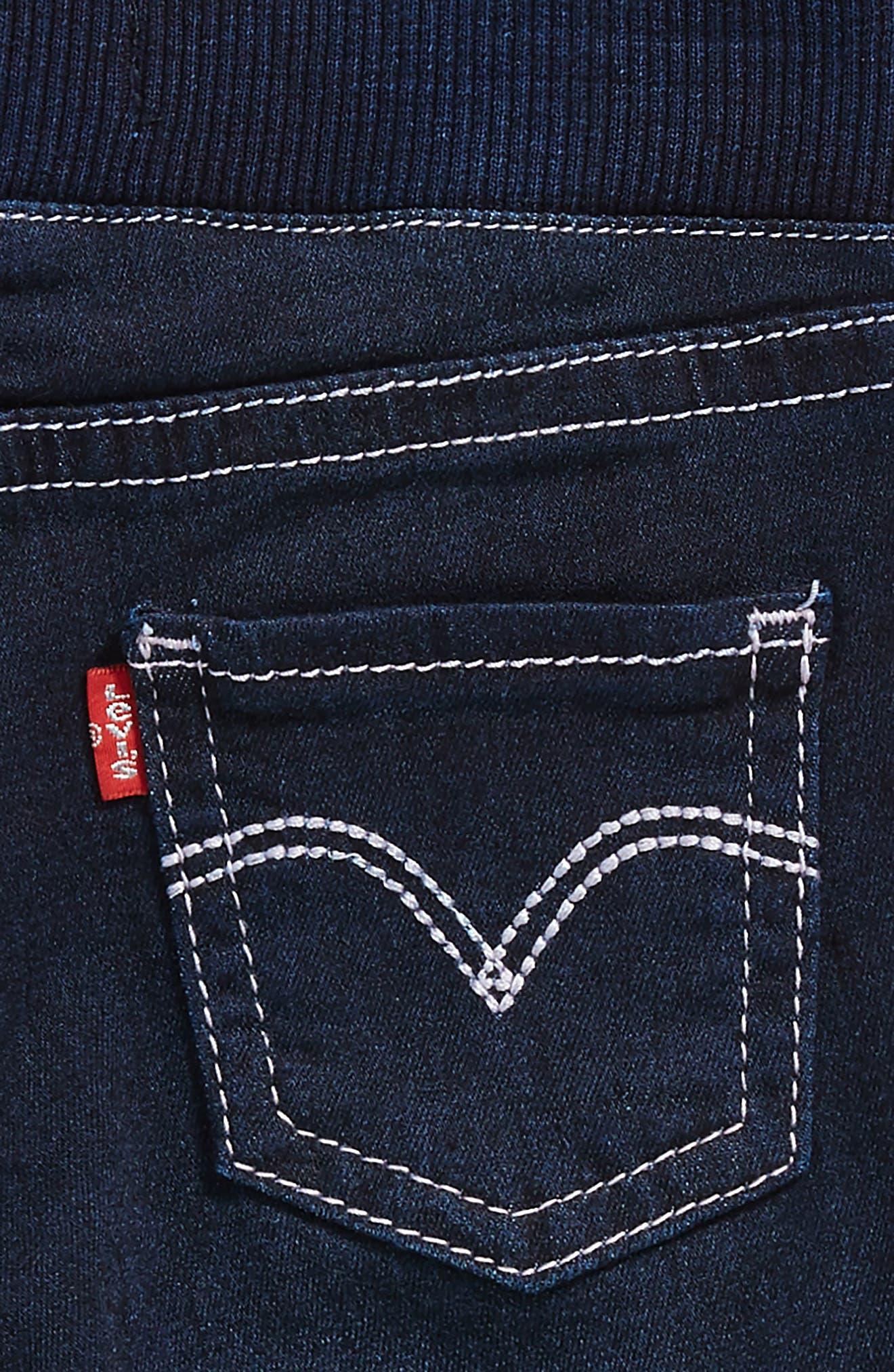 Alternate Image 3  - Levi's® Skinny Jeans (Baby Girls)