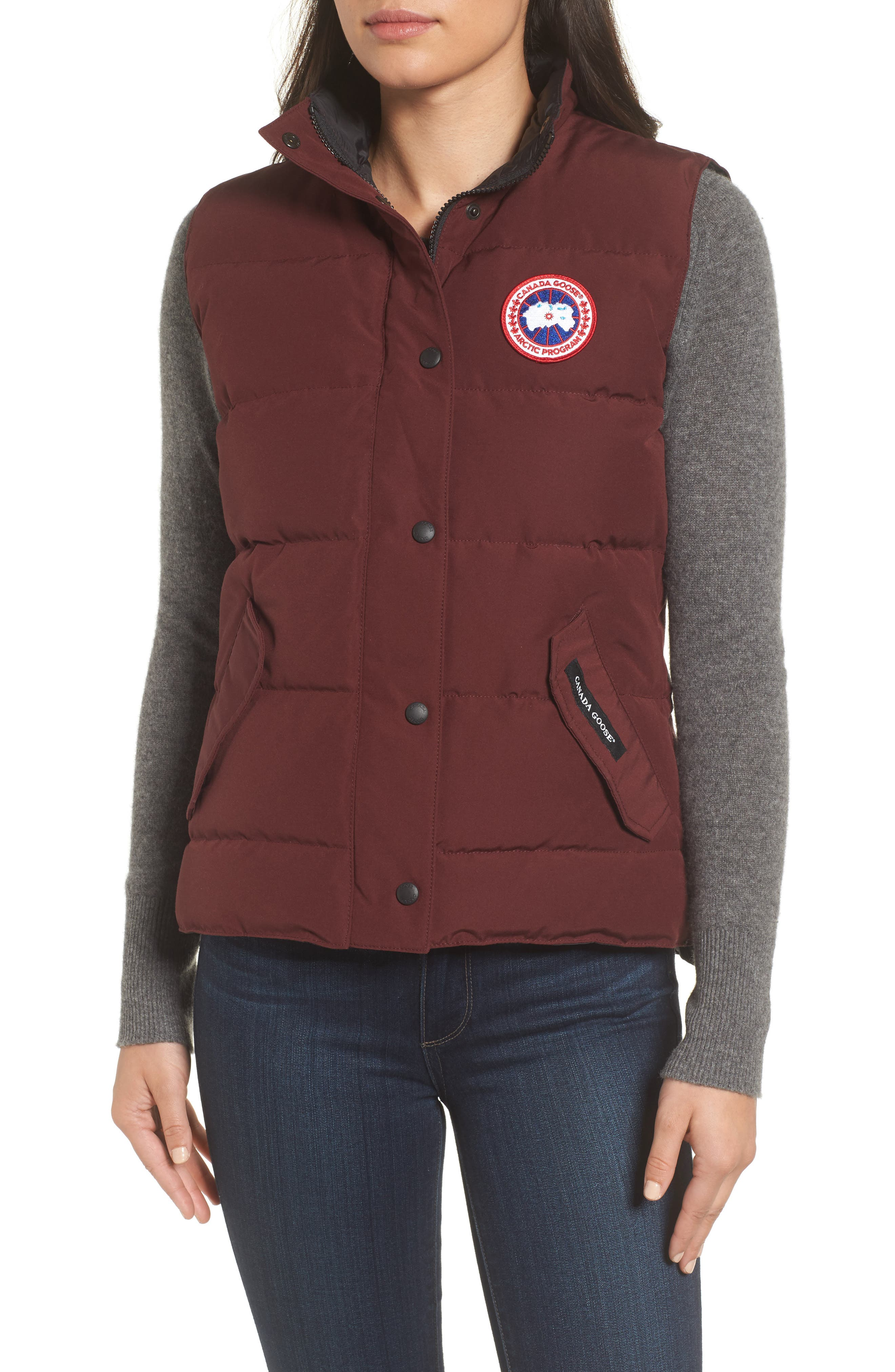 Alternate Image 4  - Canada Goose 'Freestyle' Slim Fit Down Vest (Online Only)