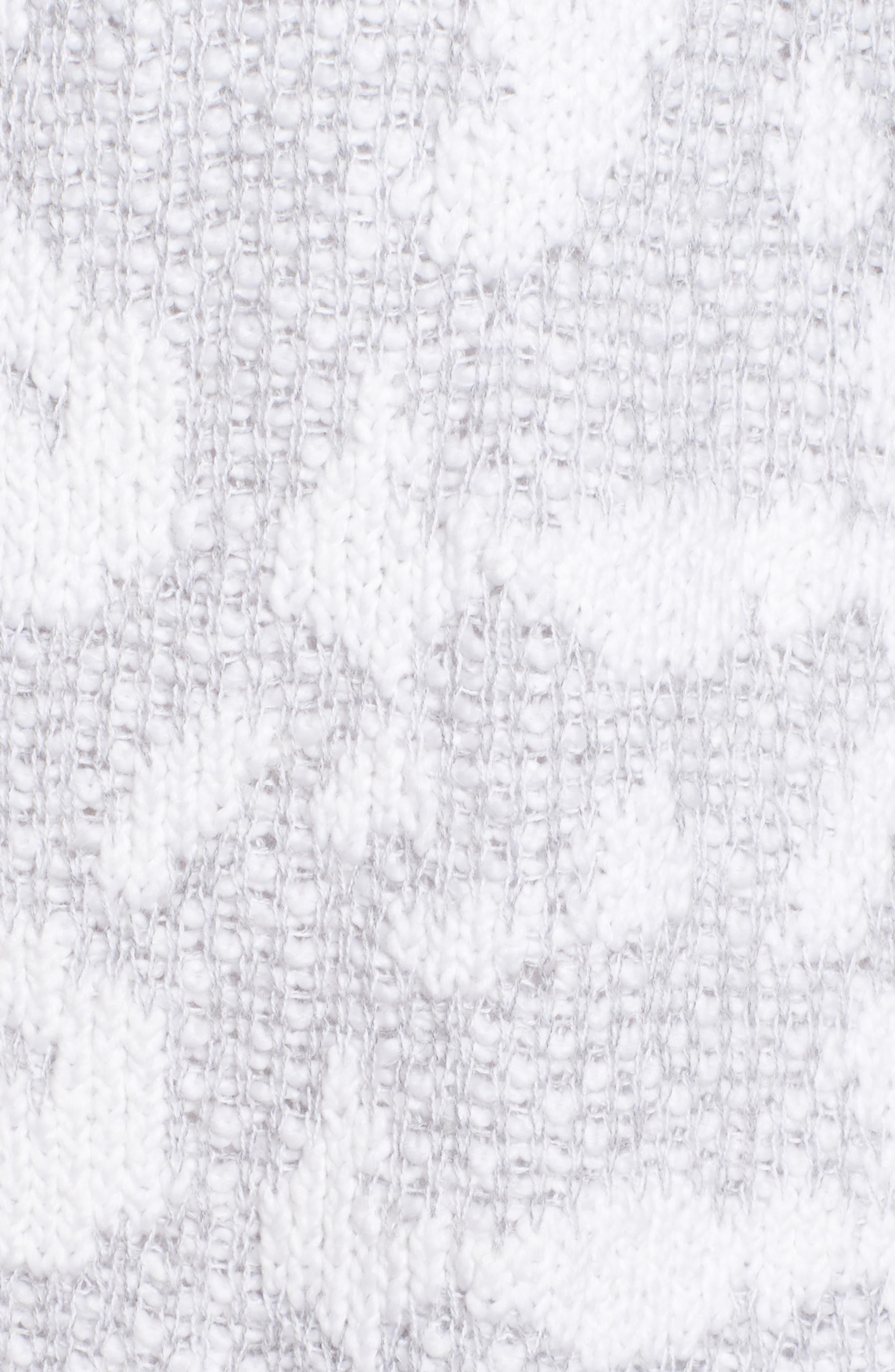 Organic Cotton Pocket Cardigan,                             Alternate thumbnail 5, color,                             Dark Pearl