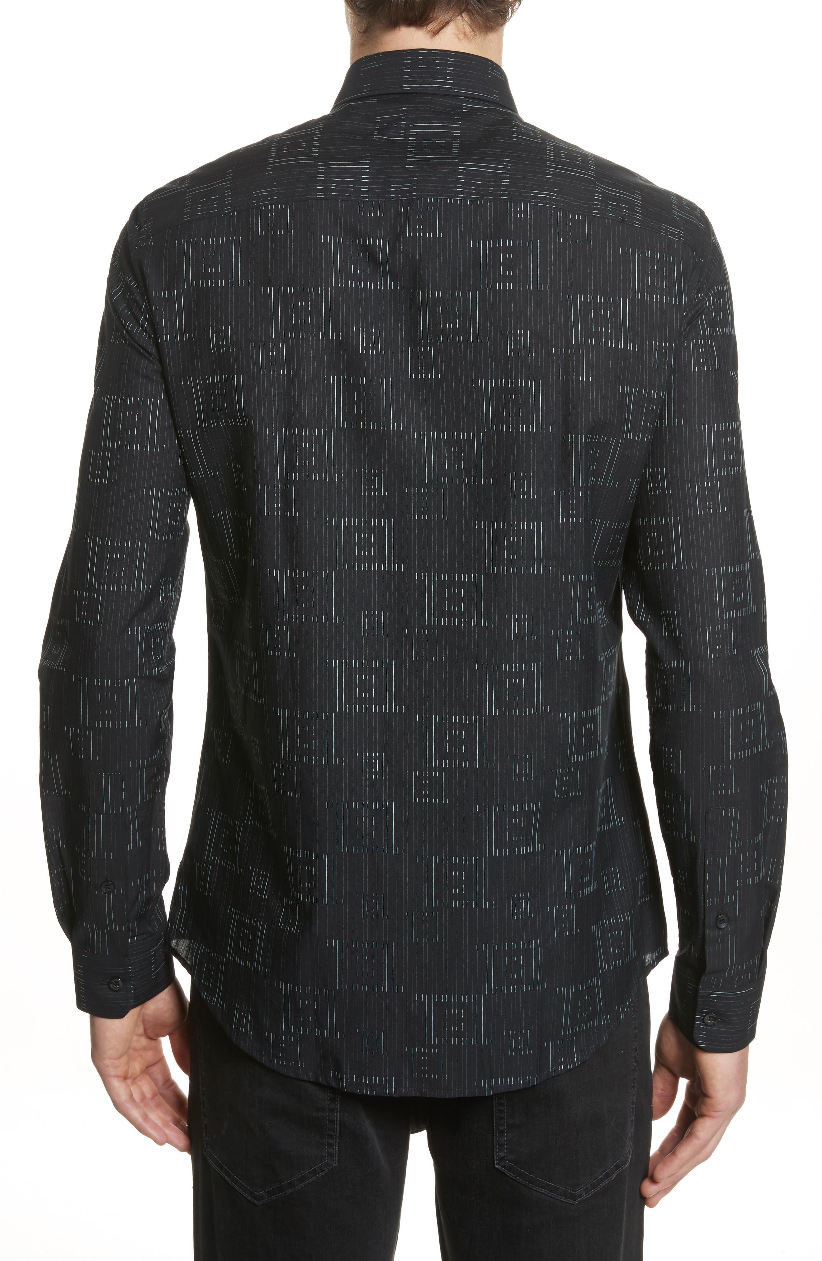 Alternate Image 3  - Versace Collection Frame Print Shirt