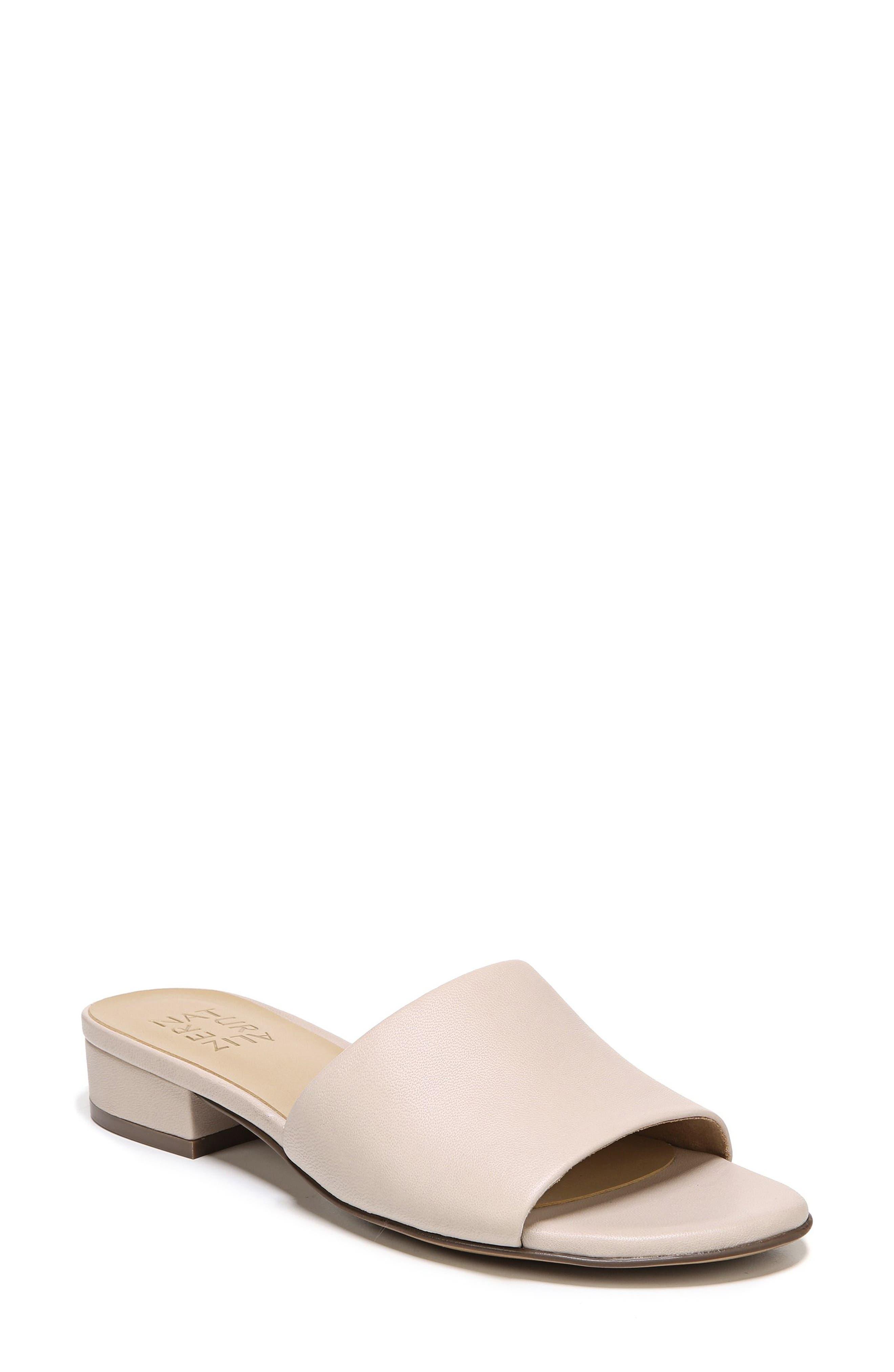 Mason Slide Sandal,                         Main,                         color, Grey Leather