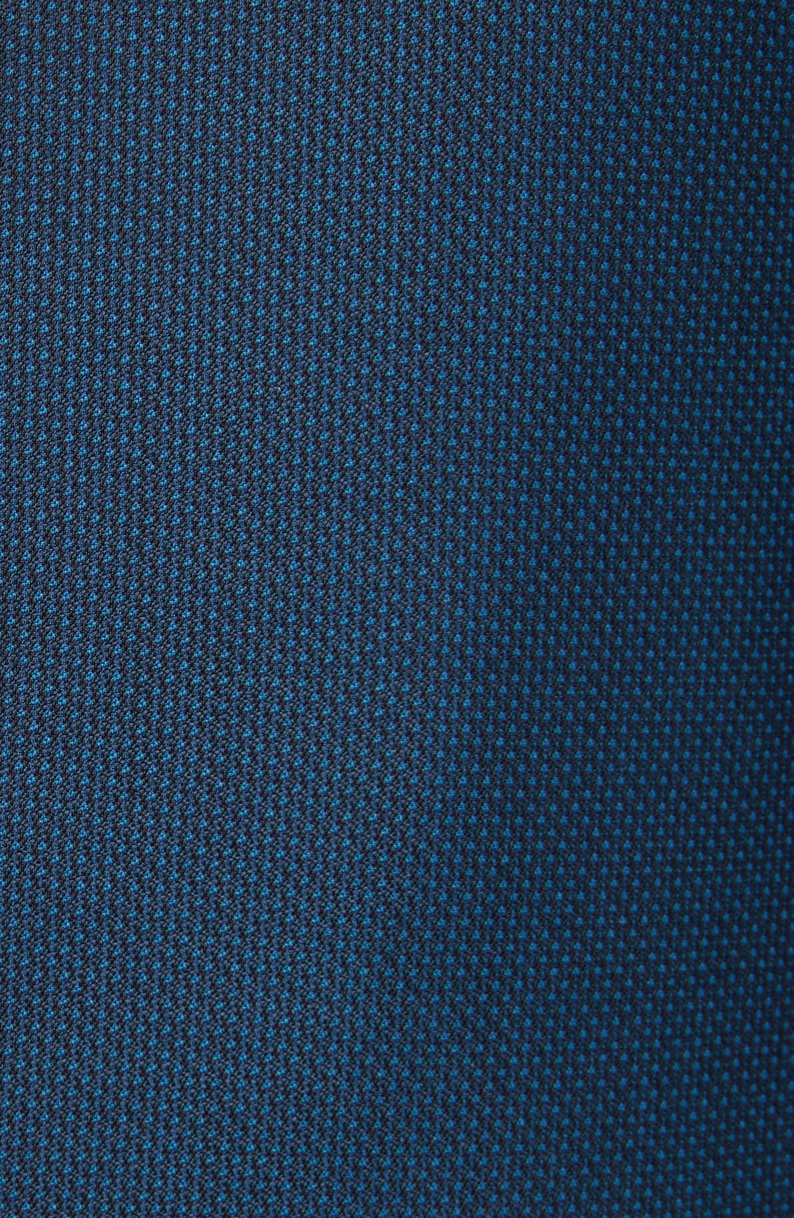 G-Line Trim Fit Solid Wool Suit,                             Alternate thumbnail 6, color,                             Blue