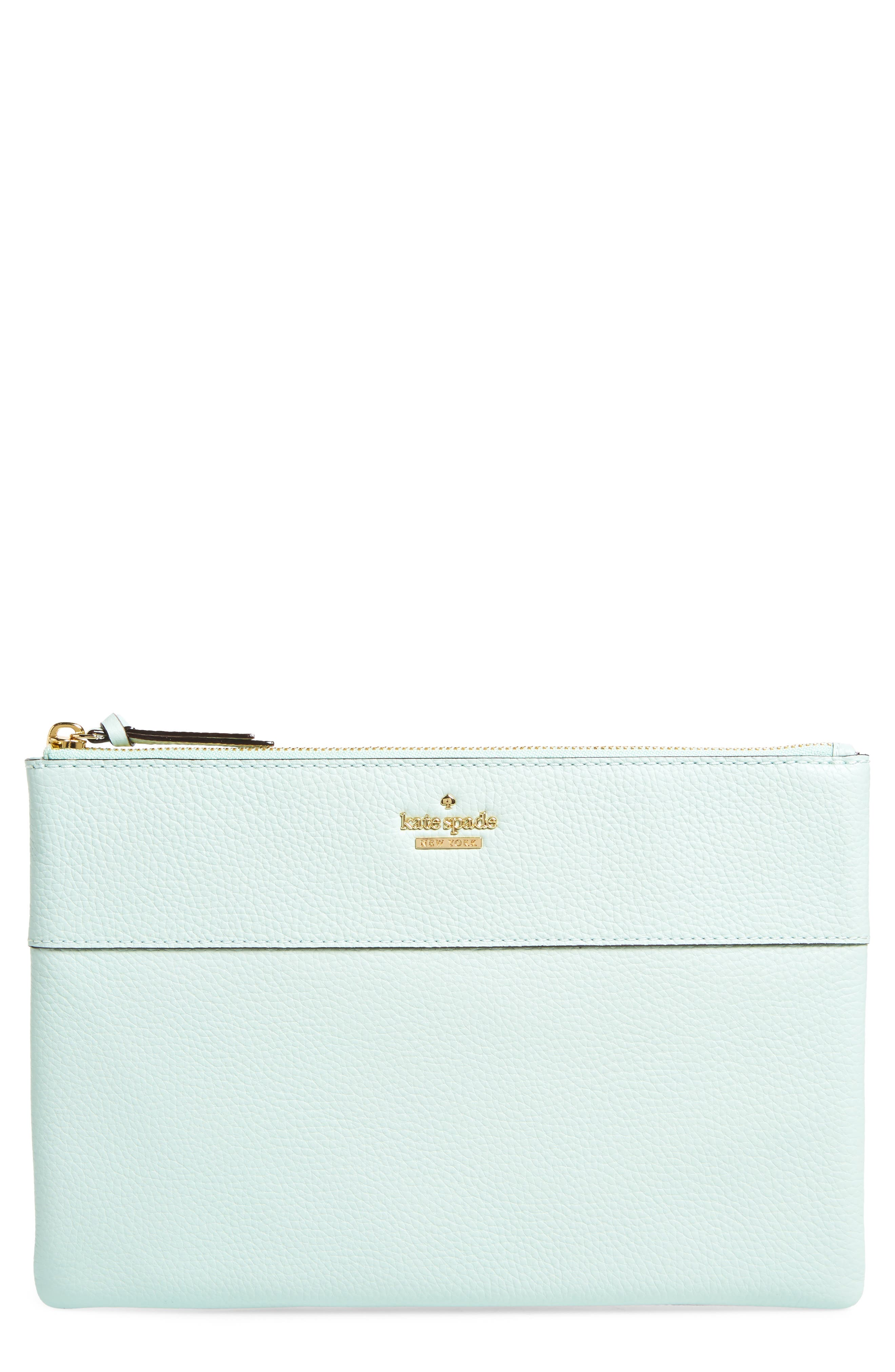 Alternate Image 1 Selected - kate spade new york jackson street large mila leather pouch