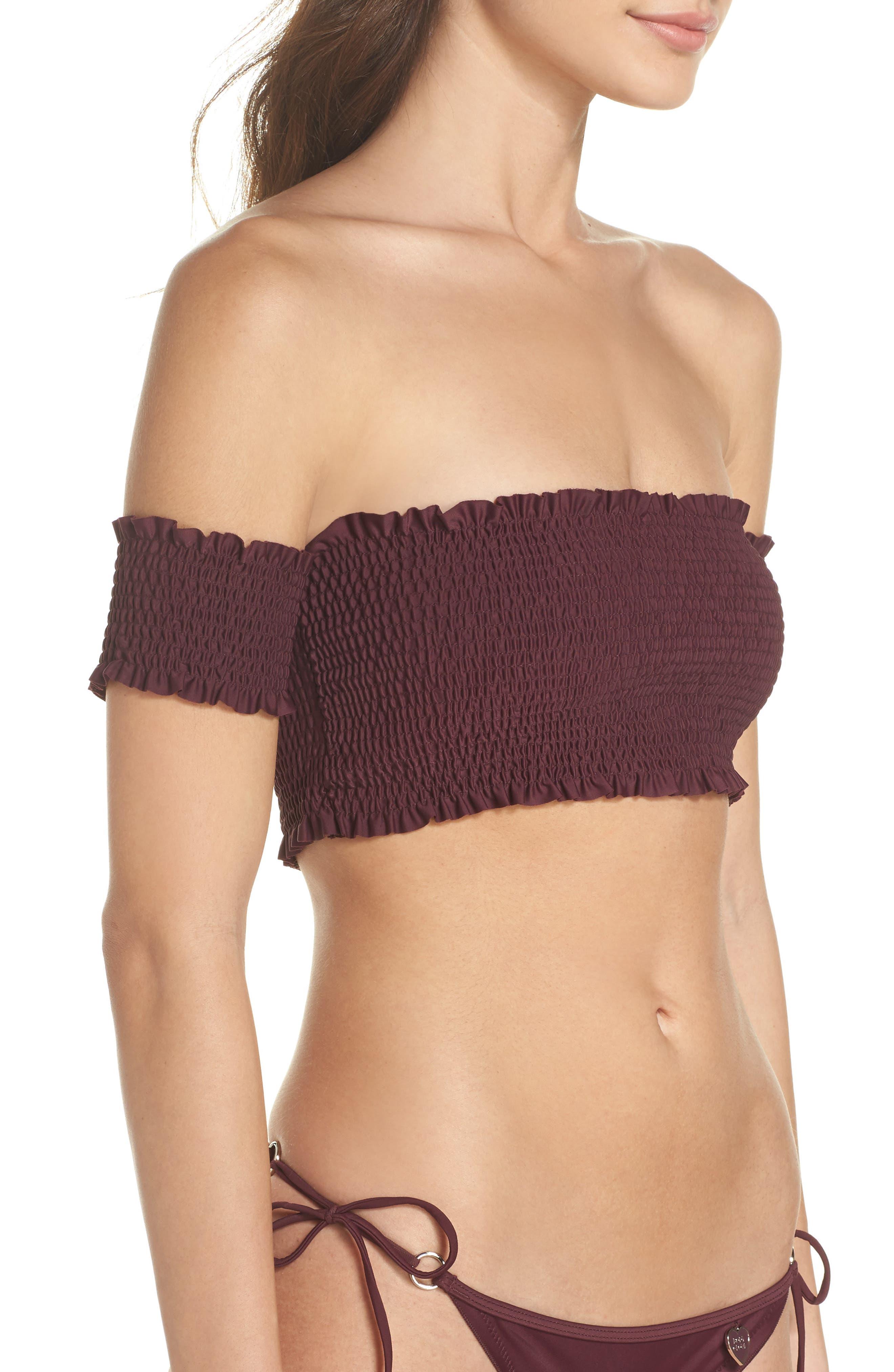 Smoothies Bliss Bikini Top,                             Alternate thumbnail 3, color,                             Porto