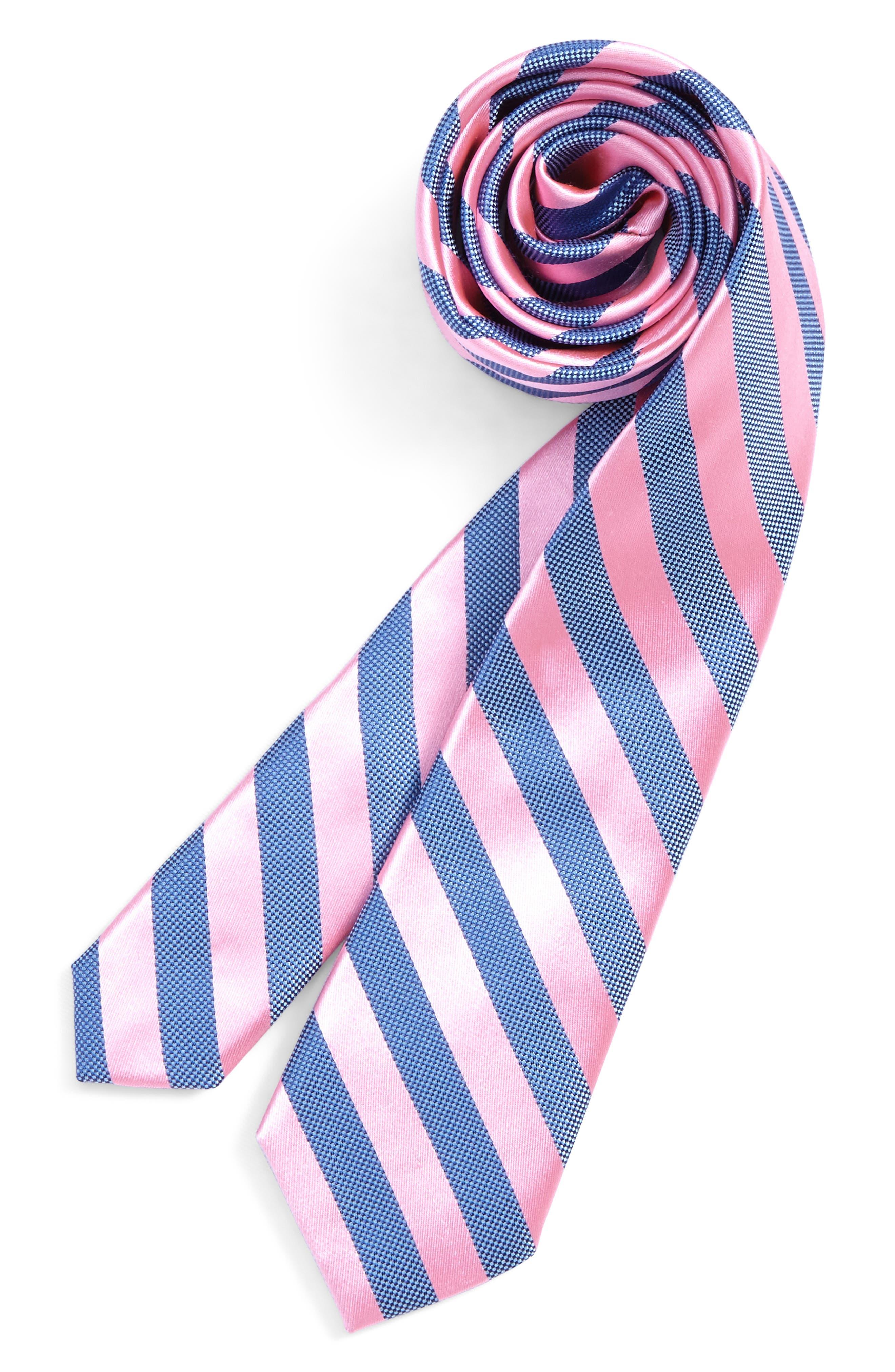 Nordstrom Stripe Silk Tie (Big Boys)