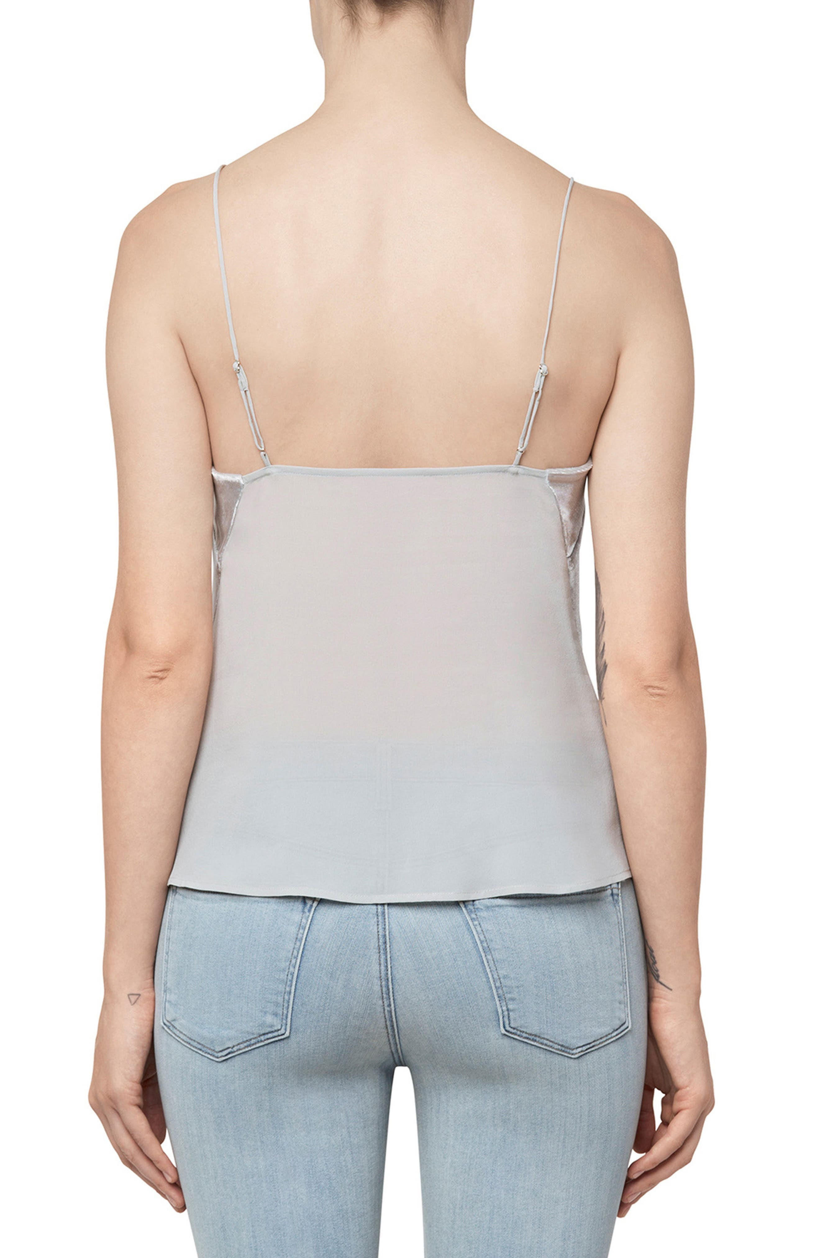 Lucy Camisole,                             Alternate thumbnail 2, color,                             Silver Spoon