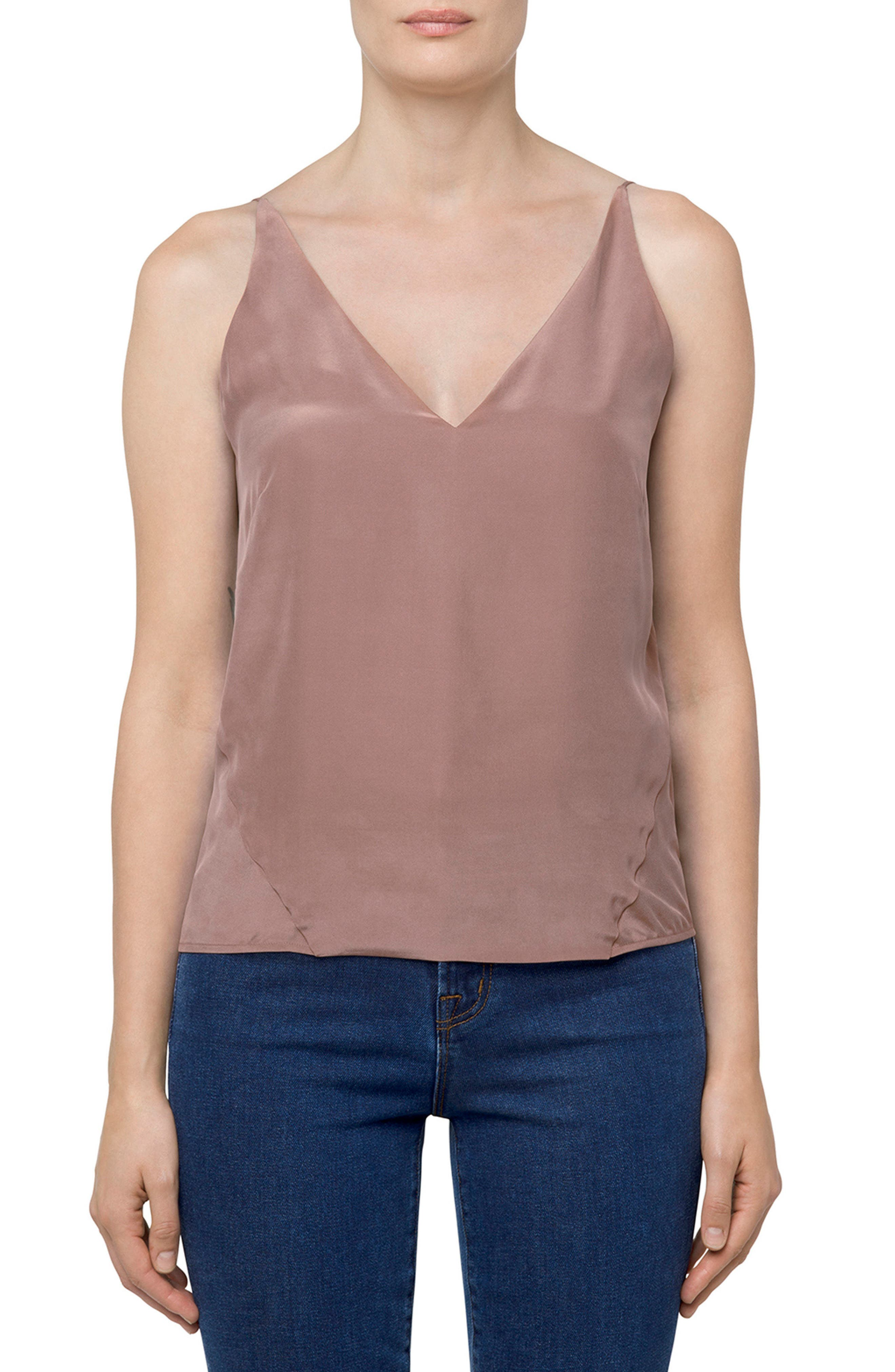 Alternate Image 1 Selected - J Brand Lucy Silk Camisole