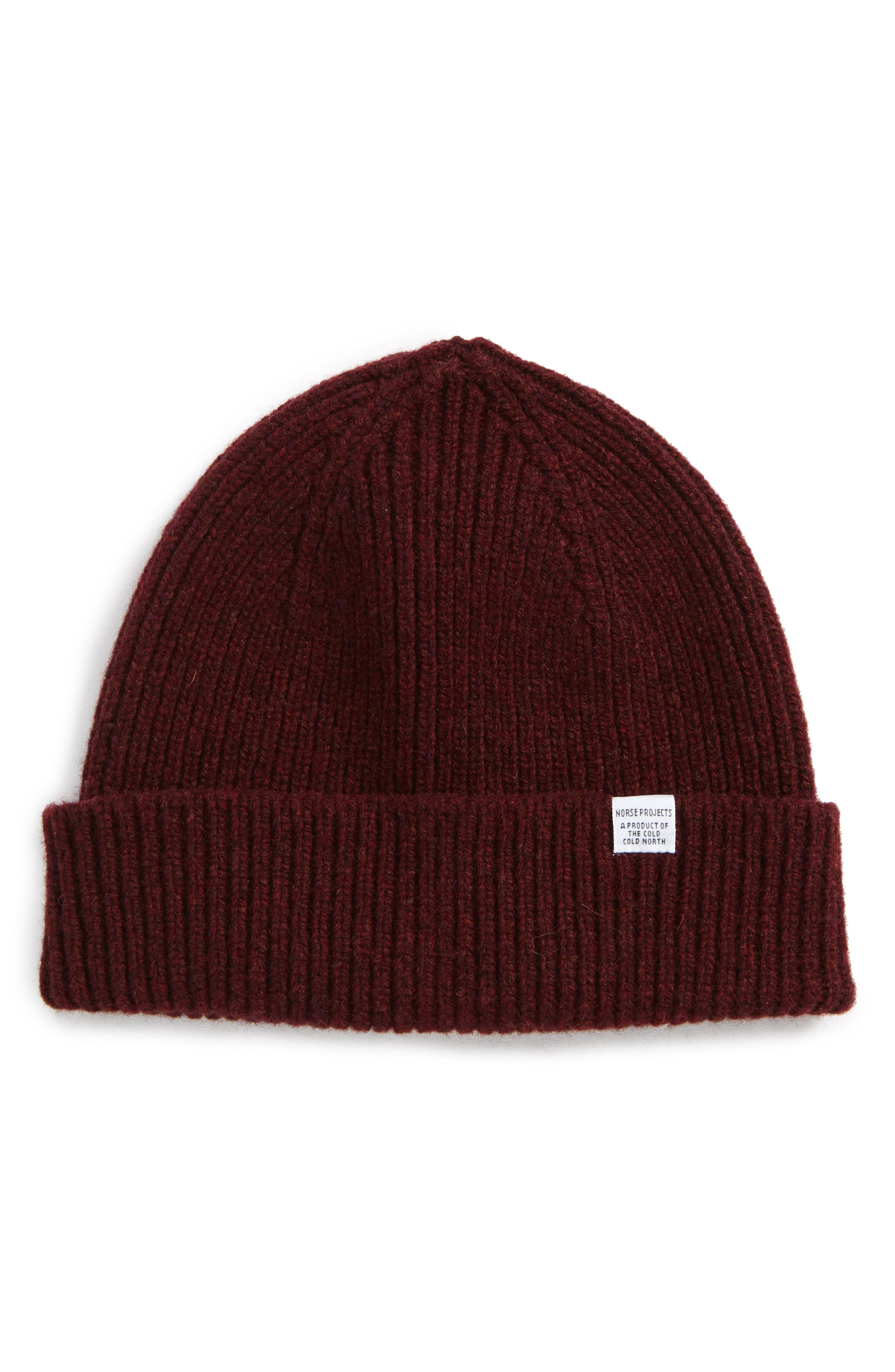Norse Projects Lambswool Rib Knit Cap