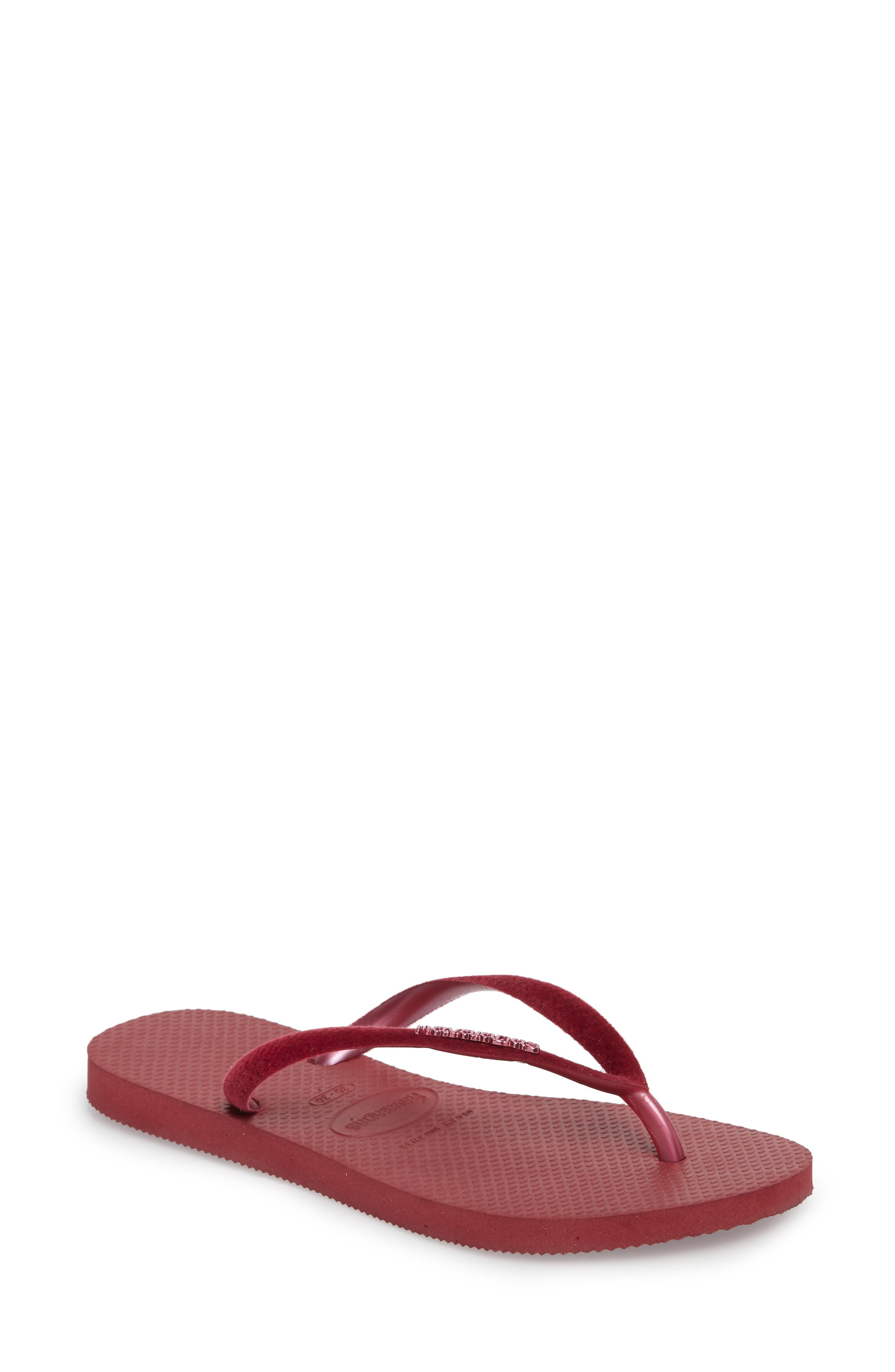 Havaianas Slim Velvet Flip Flop (Women)