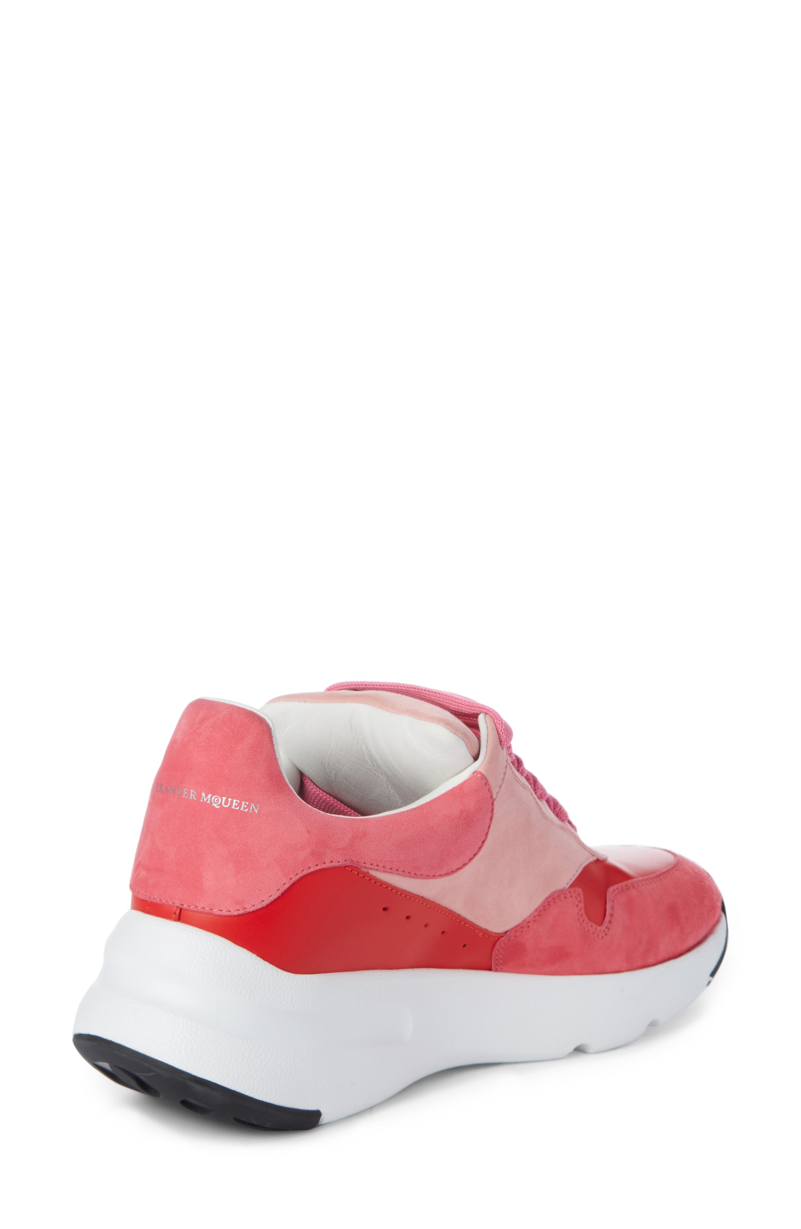 Alternate Image 2  - Alexander McQueen Runner Lace-Up Sneaker (Women)
