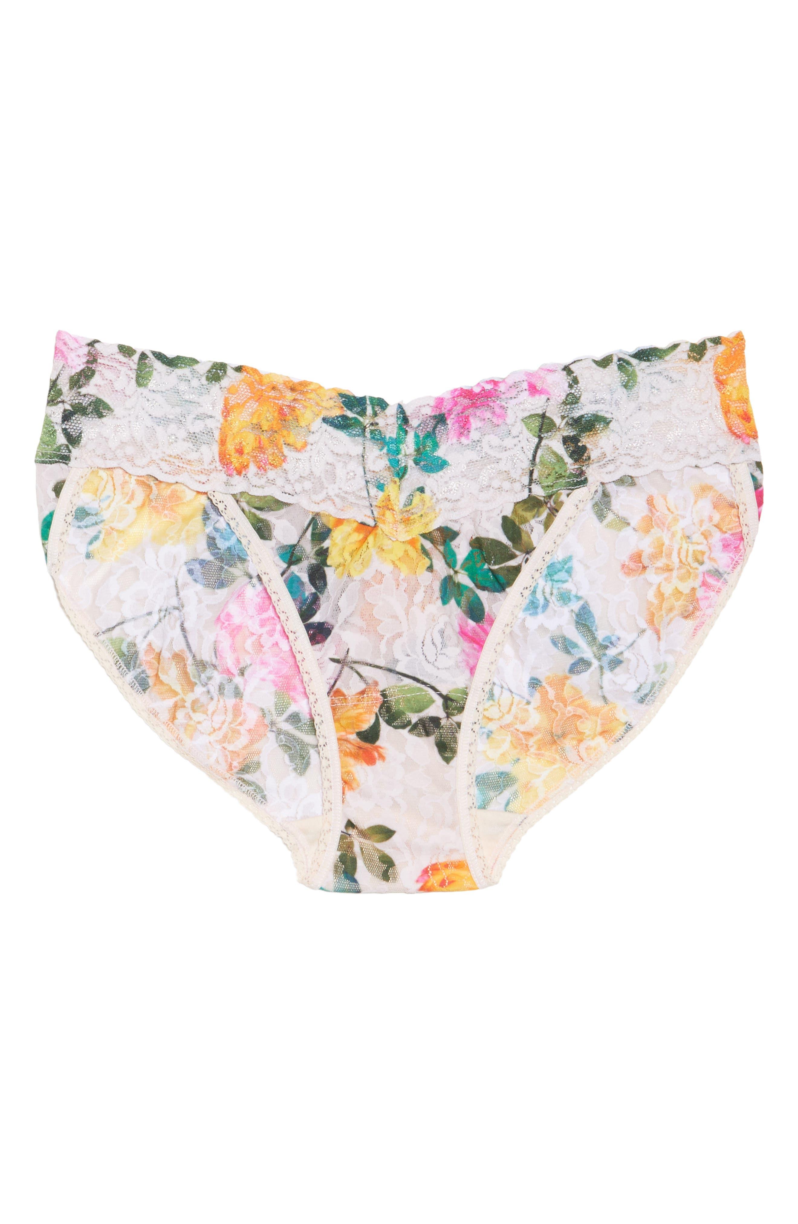 Alternate Image 4  - Hanky Panky Print V-Kini Bikini