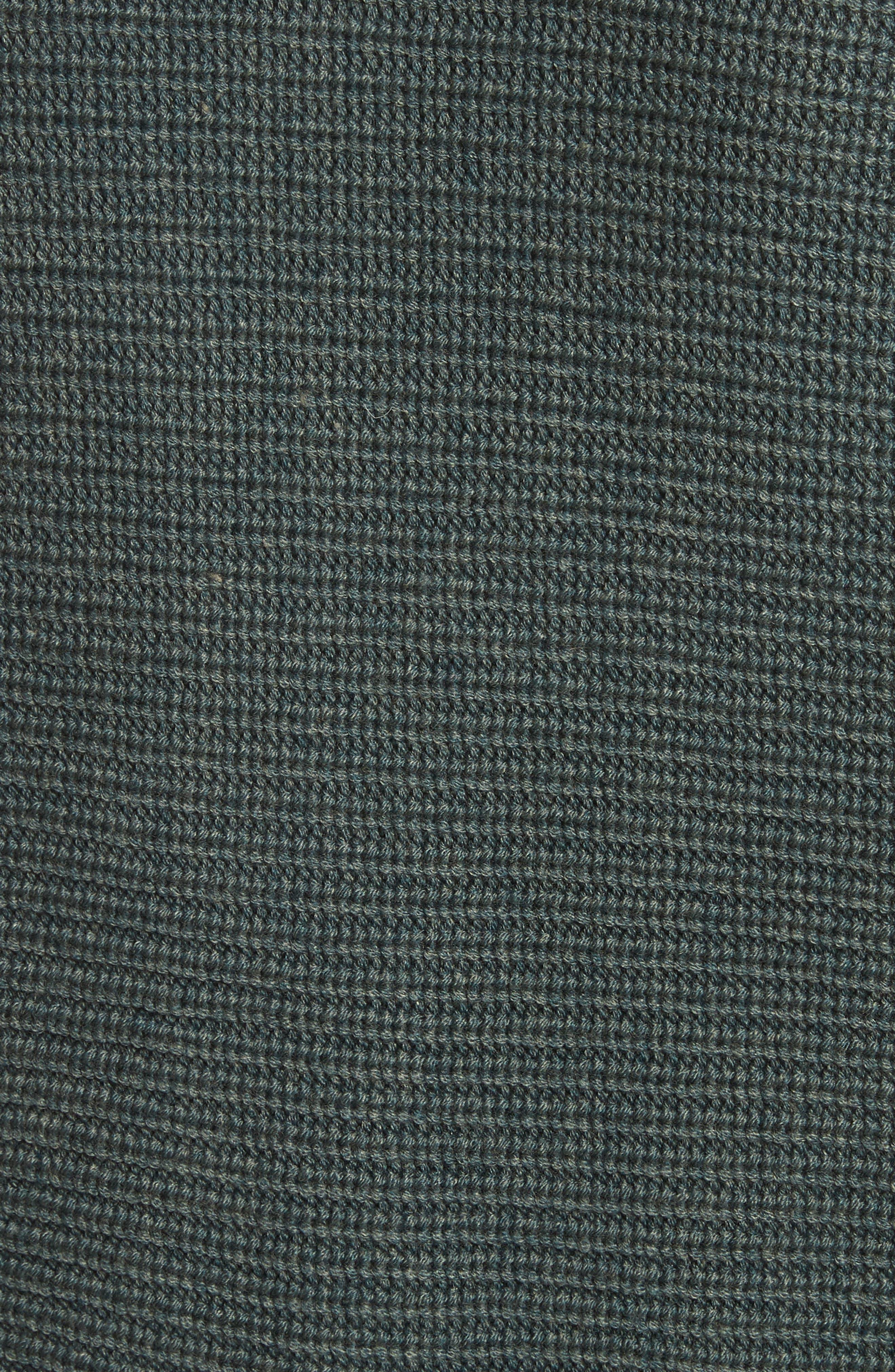 Fleta Merino Wool Blend Cardigan,                             Alternate thumbnail 6, color,                             Olive