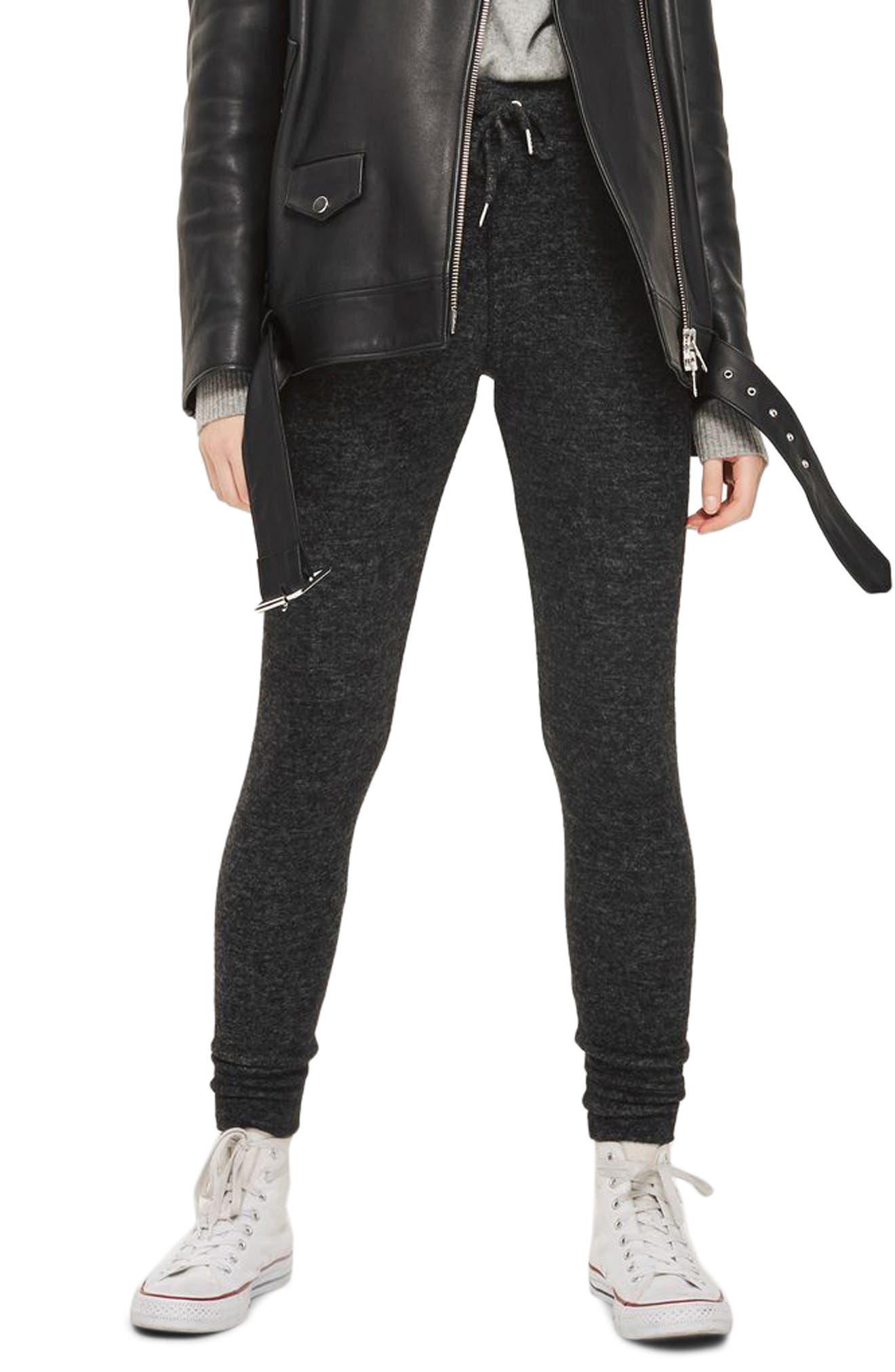 Skinny Jogger Pants,                         Main,                         color, Charcoal