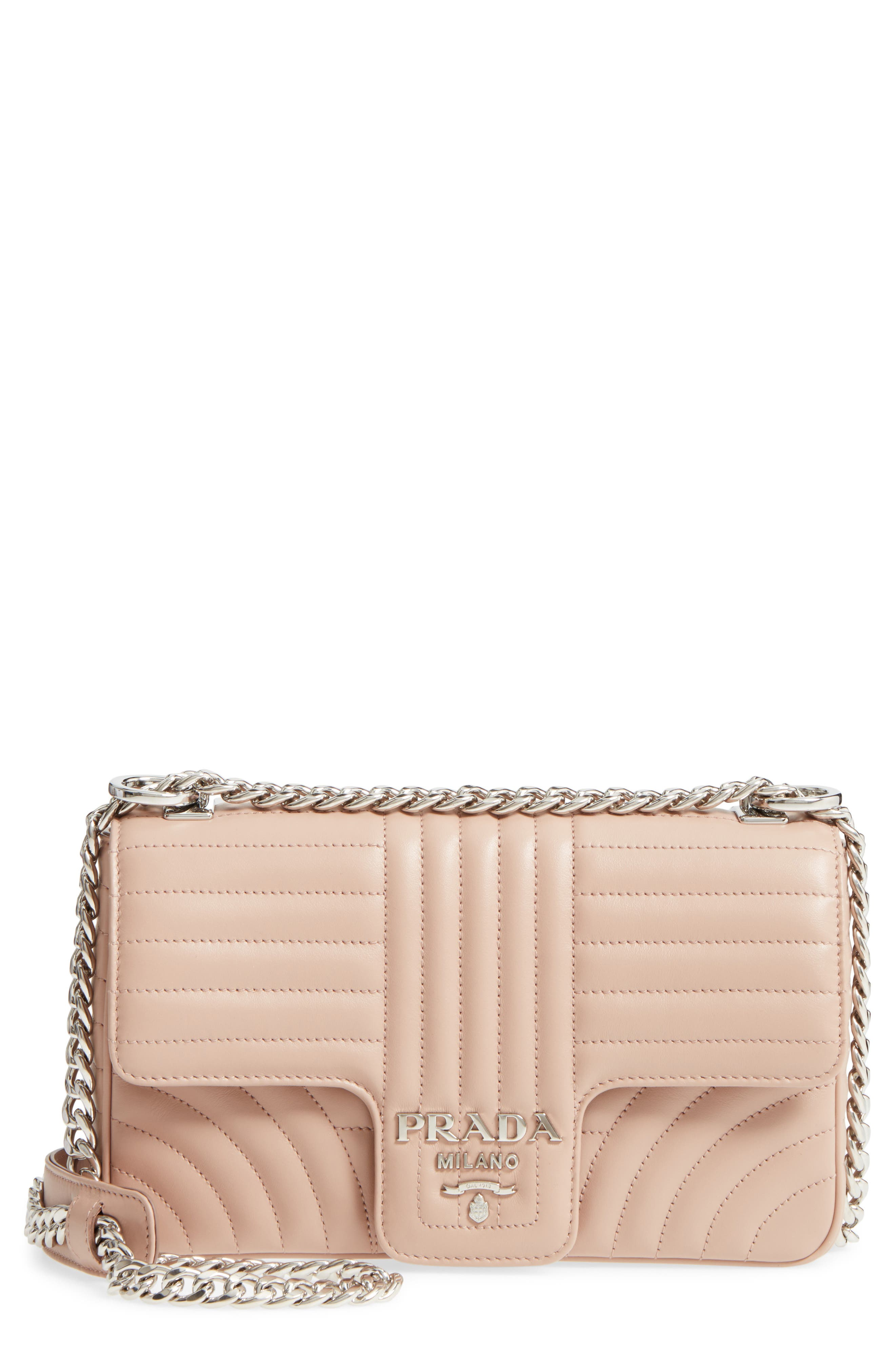 Prada Large Quilted Shoulder Bag