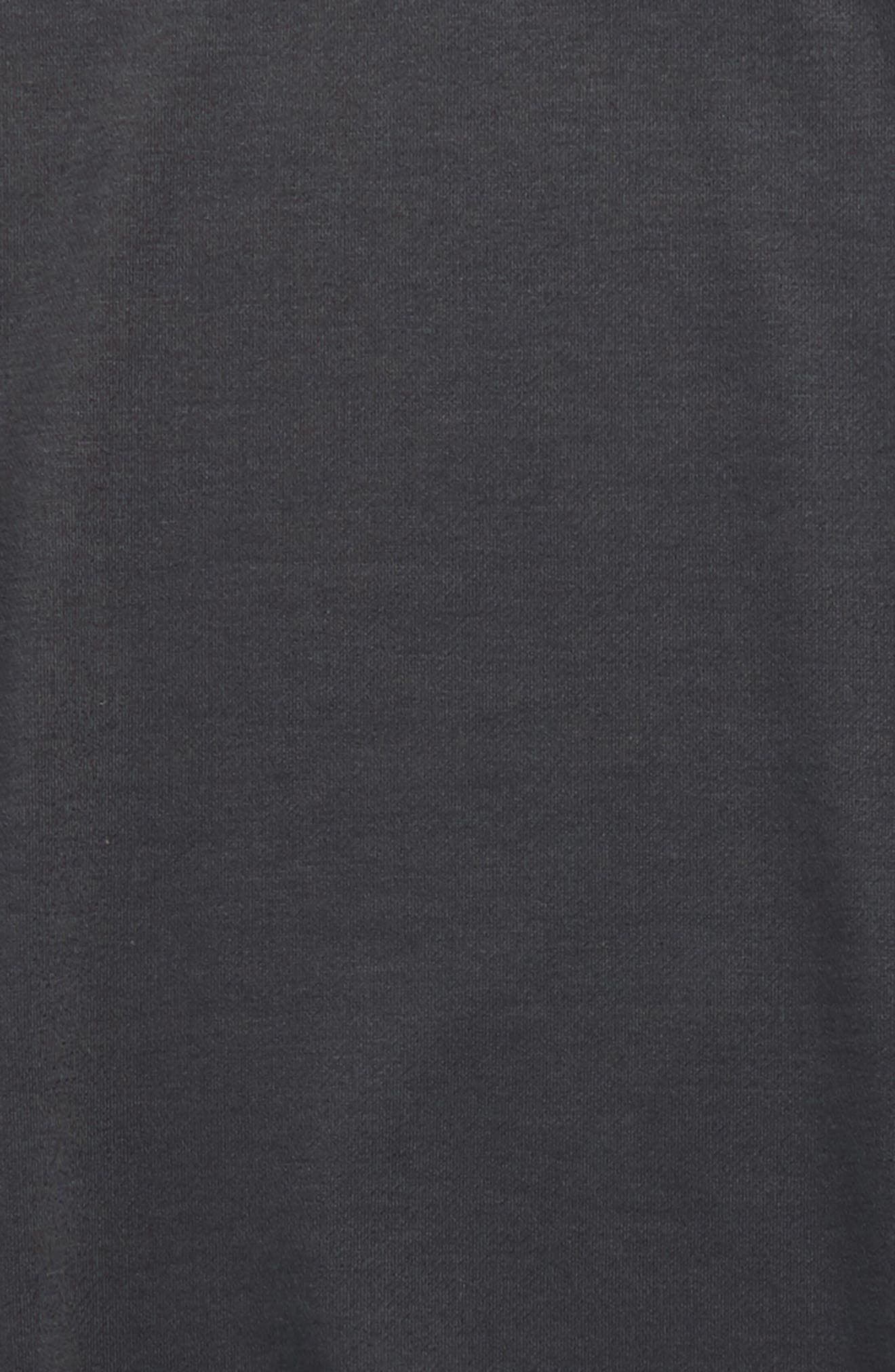 Alternate Image 2  - Soprano Side Lace Sweatshirt (Big Girls)