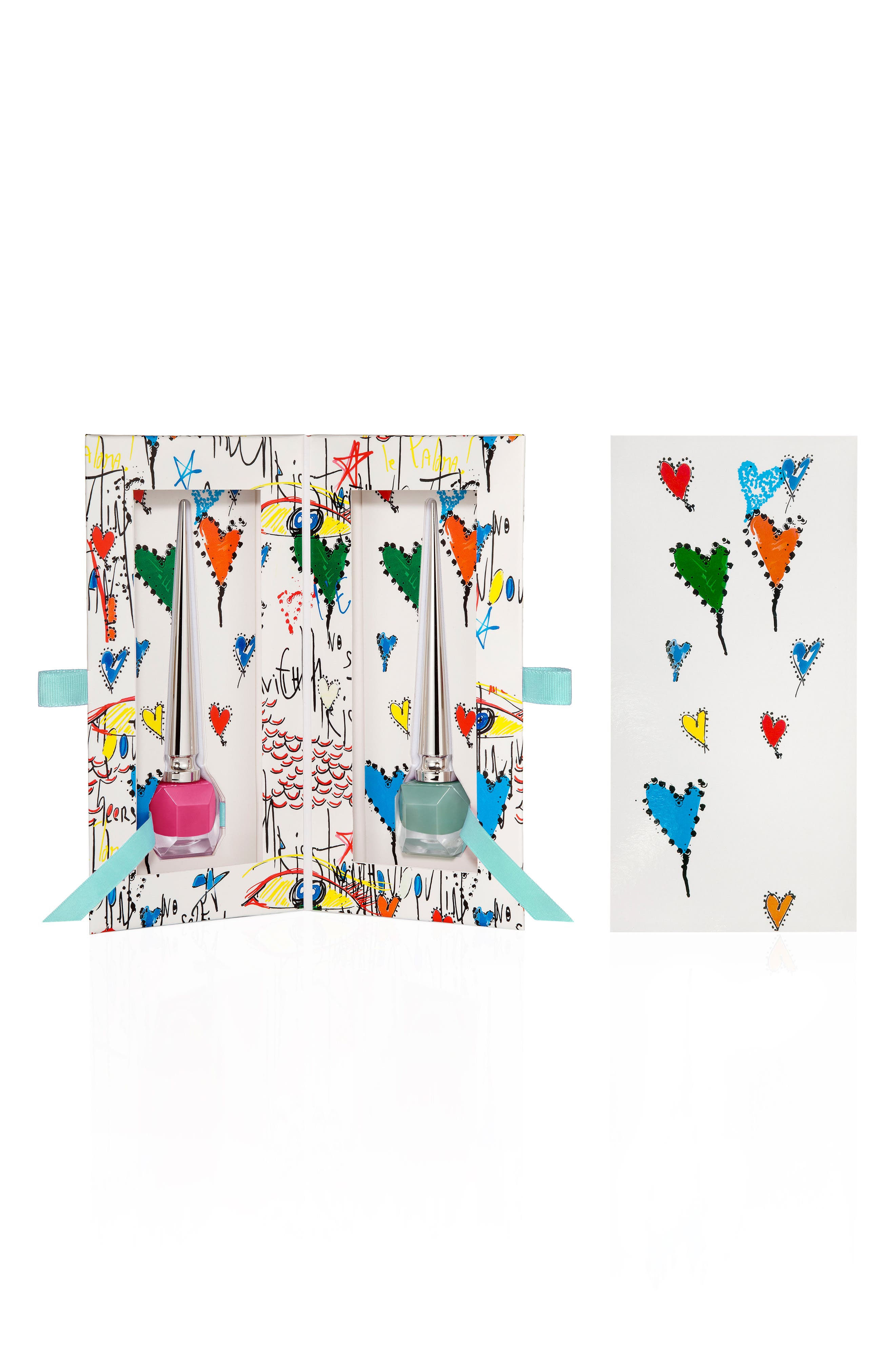 Loubitag Nail Collection,                         Main,                         color, Pluminette / Batignolles