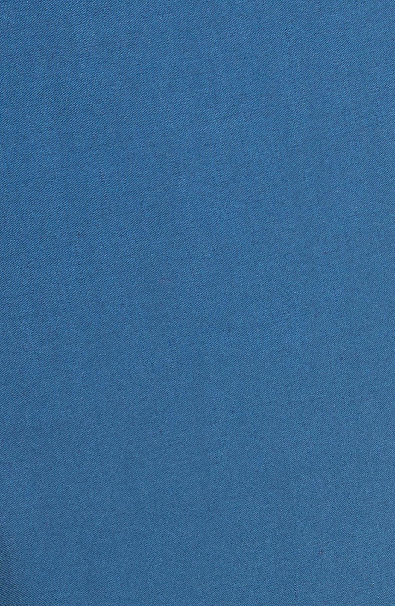 Winona Cuff Wide Leg Pants,                             Alternate thumbnail 5, color,                             Blue