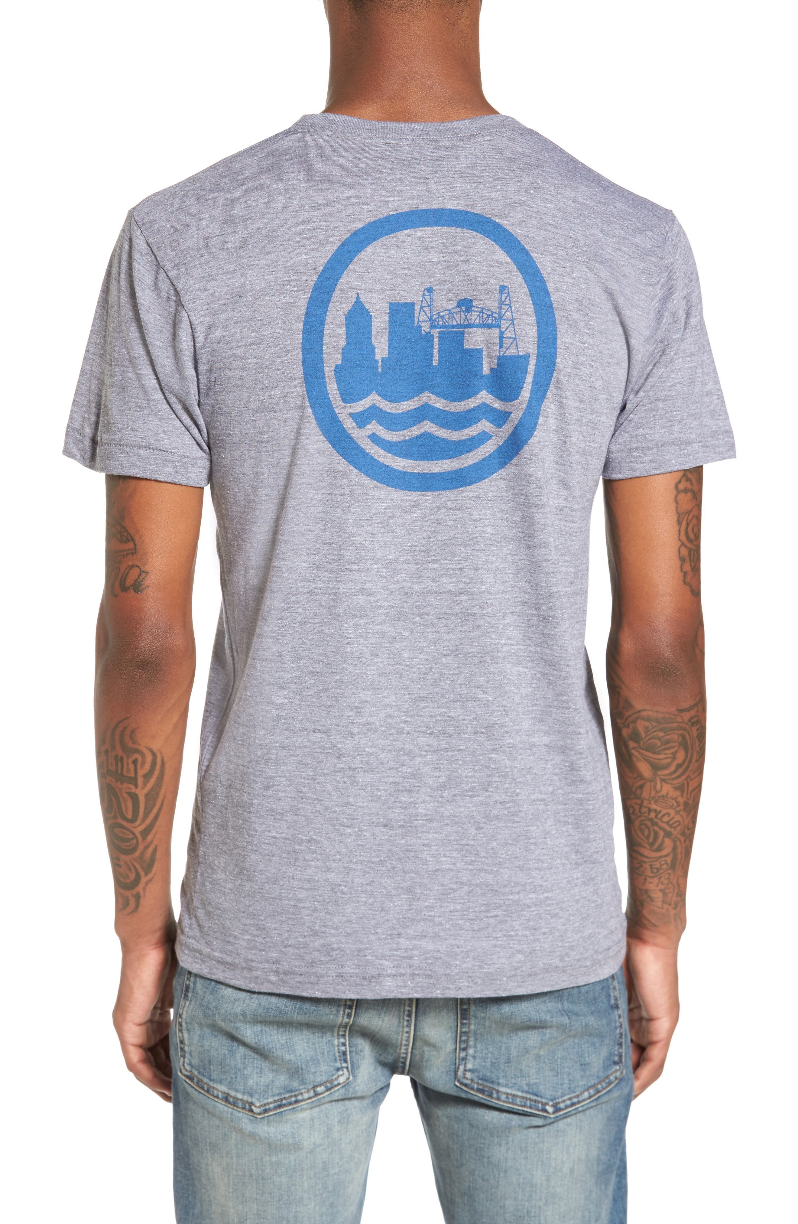 PDX T-Shirt,                             Alternate thumbnail 2, color,                             Tri Athletic Grey