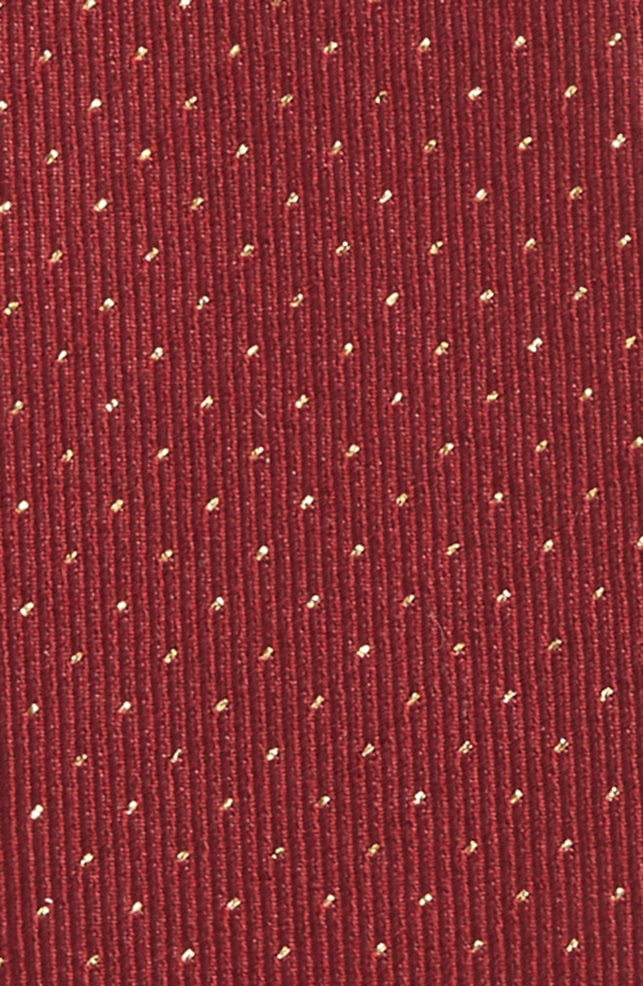 Flicker Self Bow Tie,                             Alternate thumbnail 3, color,                             Burgundy