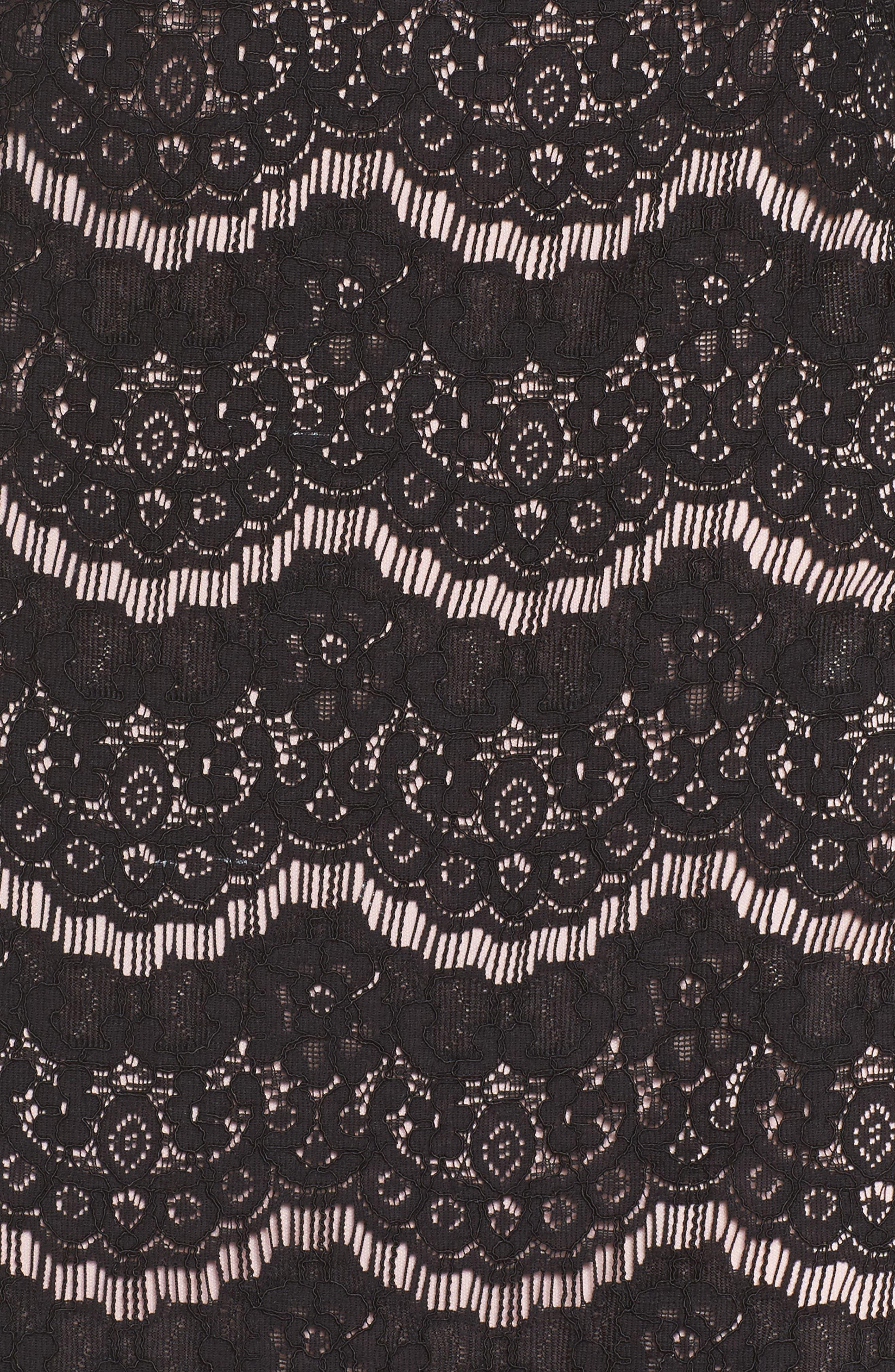 Alternate Image 5  - Julia Jordan Lace Shift Dress