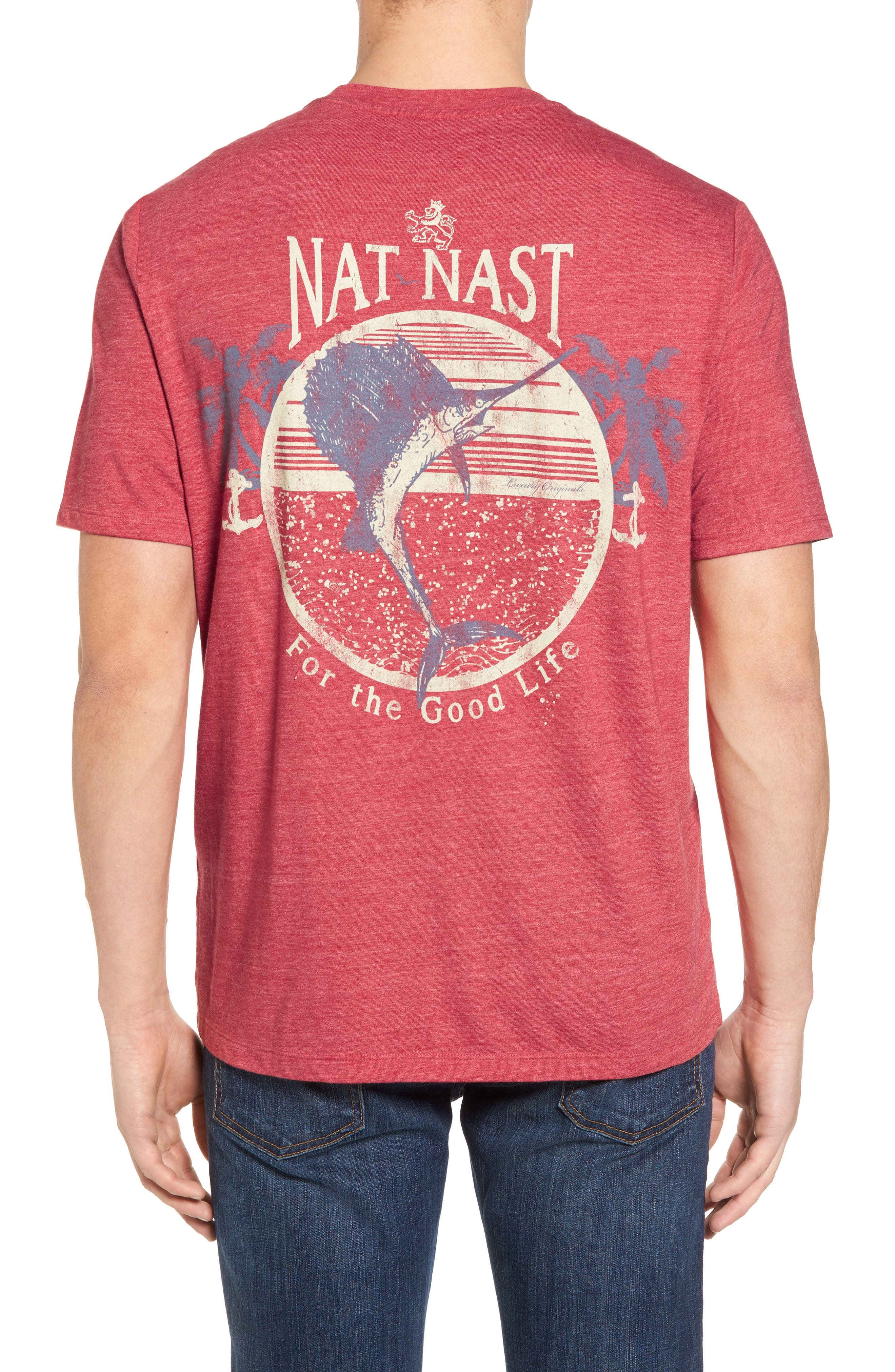 Alternate Image 2  - Nat Nast For the Good Life Graphic T-Shirt