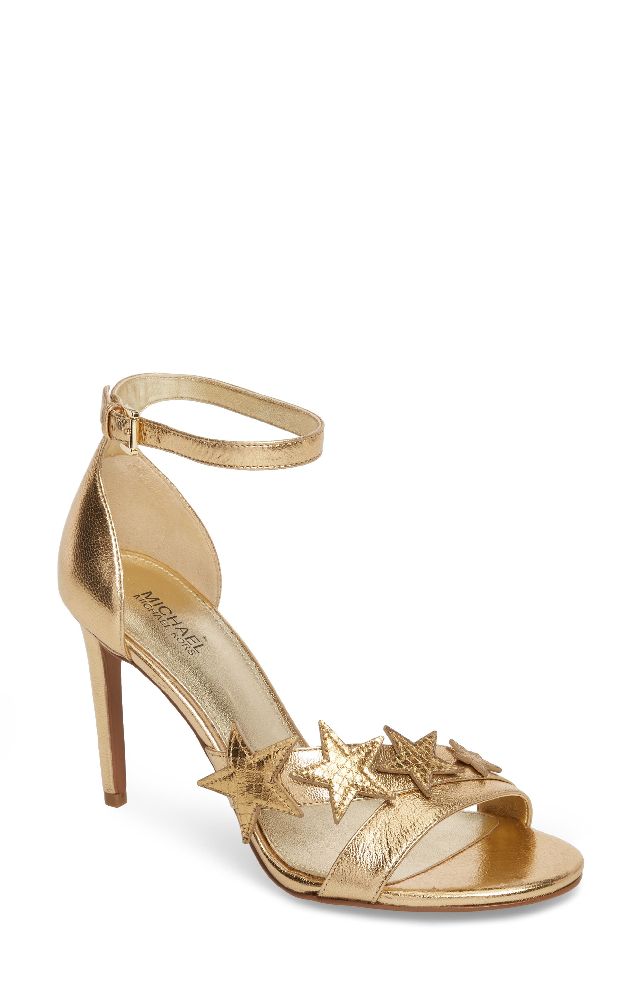Lexie Sandal,                             Main thumbnail 1, color,                             Pale Gold Nappa Leather