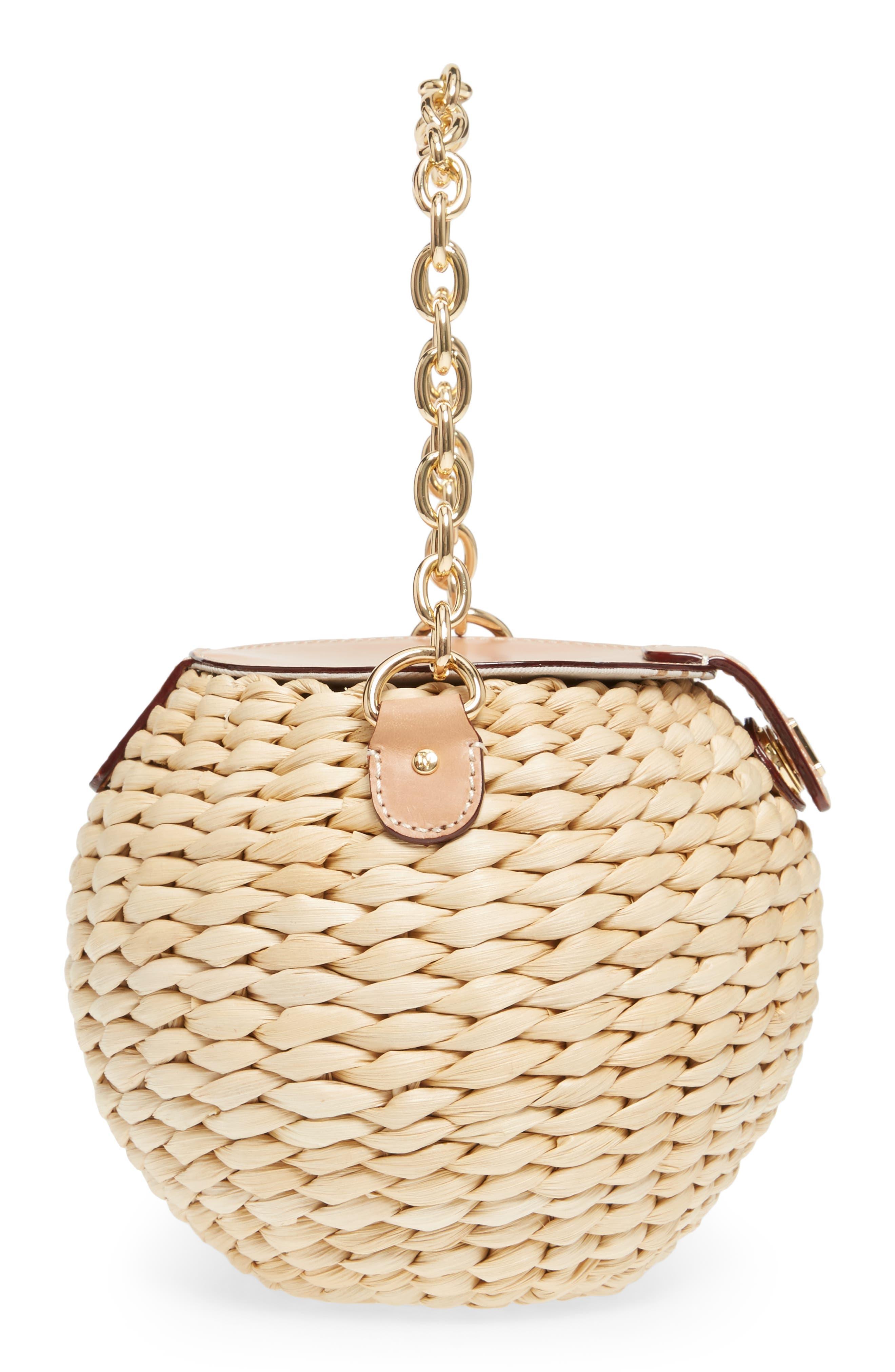Alternate Image 4  - Frances Valentine Mini Woven Bucket Bag