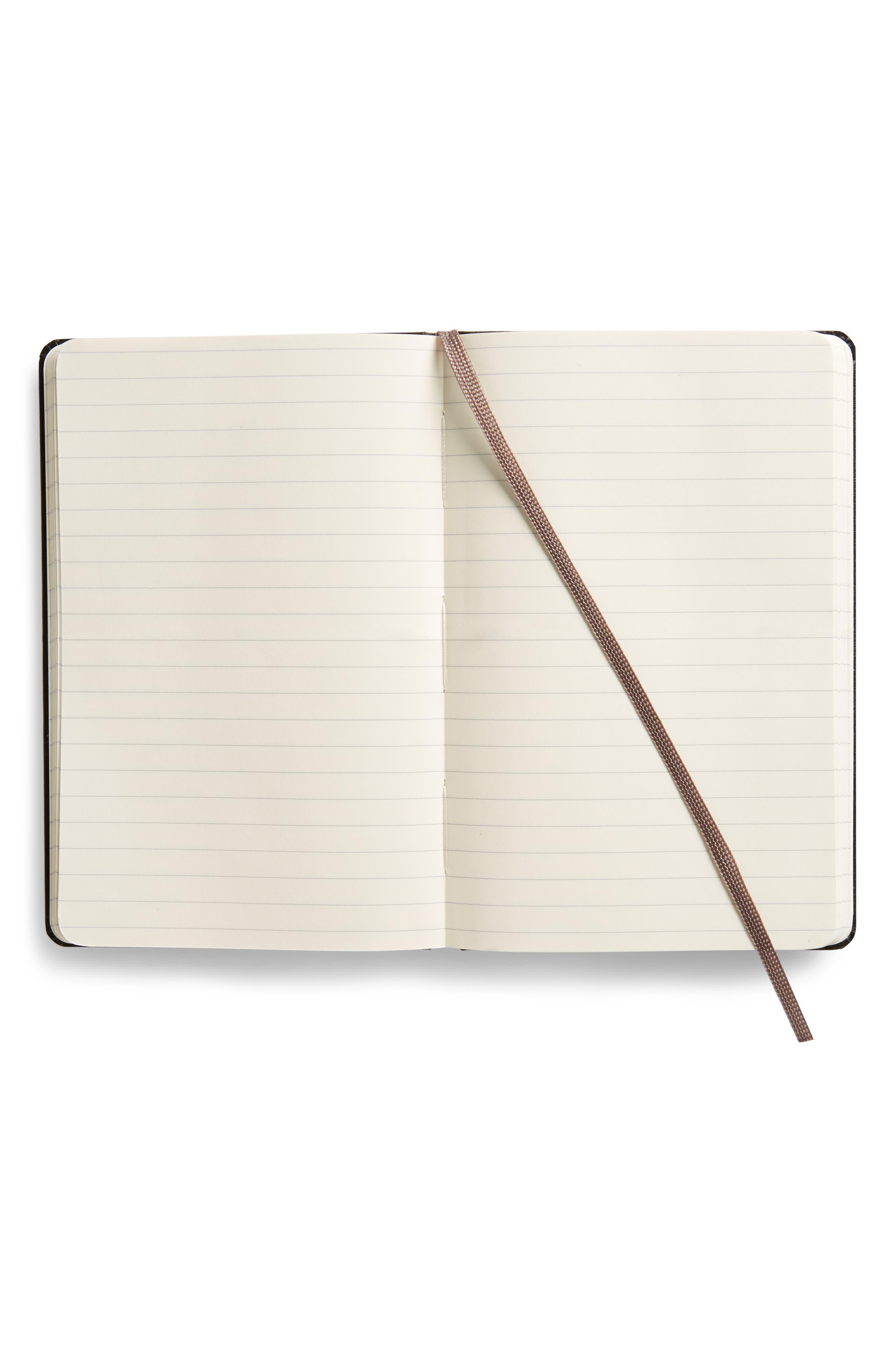 Alternate Image 2  - Moleskine Classic Ruled Pocket Hardcover Notebook