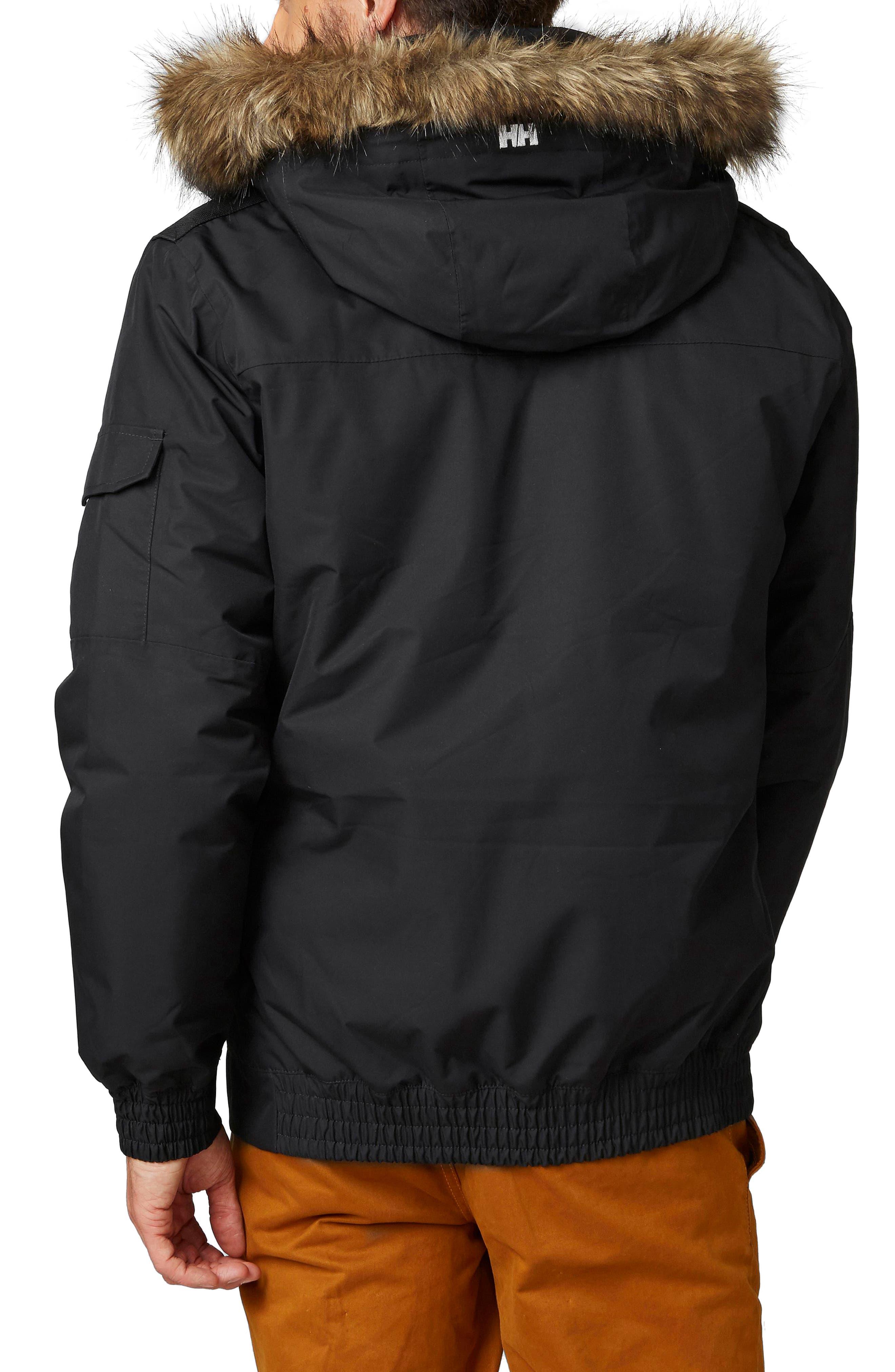 Dubliner Waterproof Down Jacket,                             Alternate thumbnail 2, color,                             Black