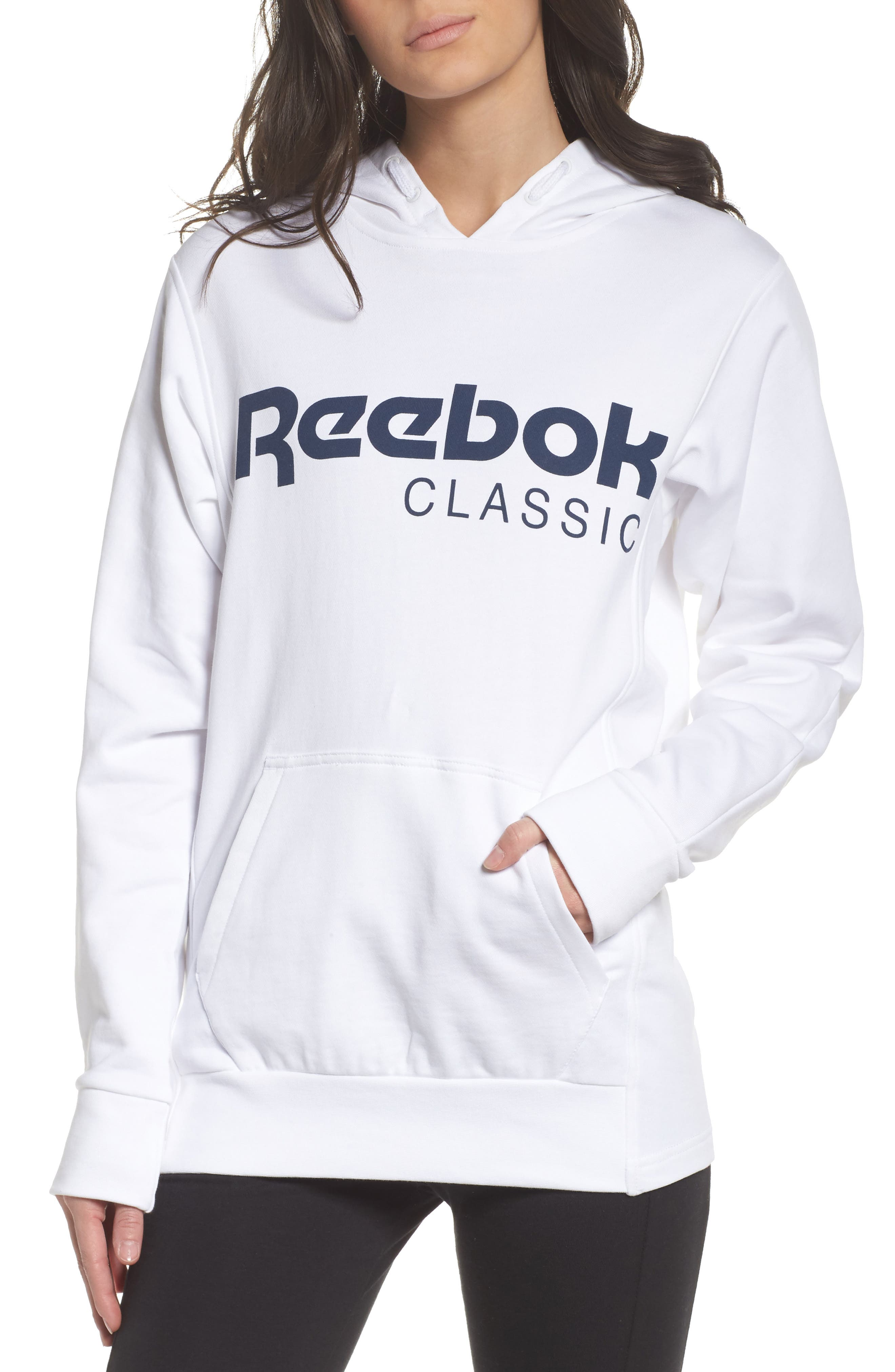 Alternate Image 1 Selected - Reebok Foundation French Terry Hoodie