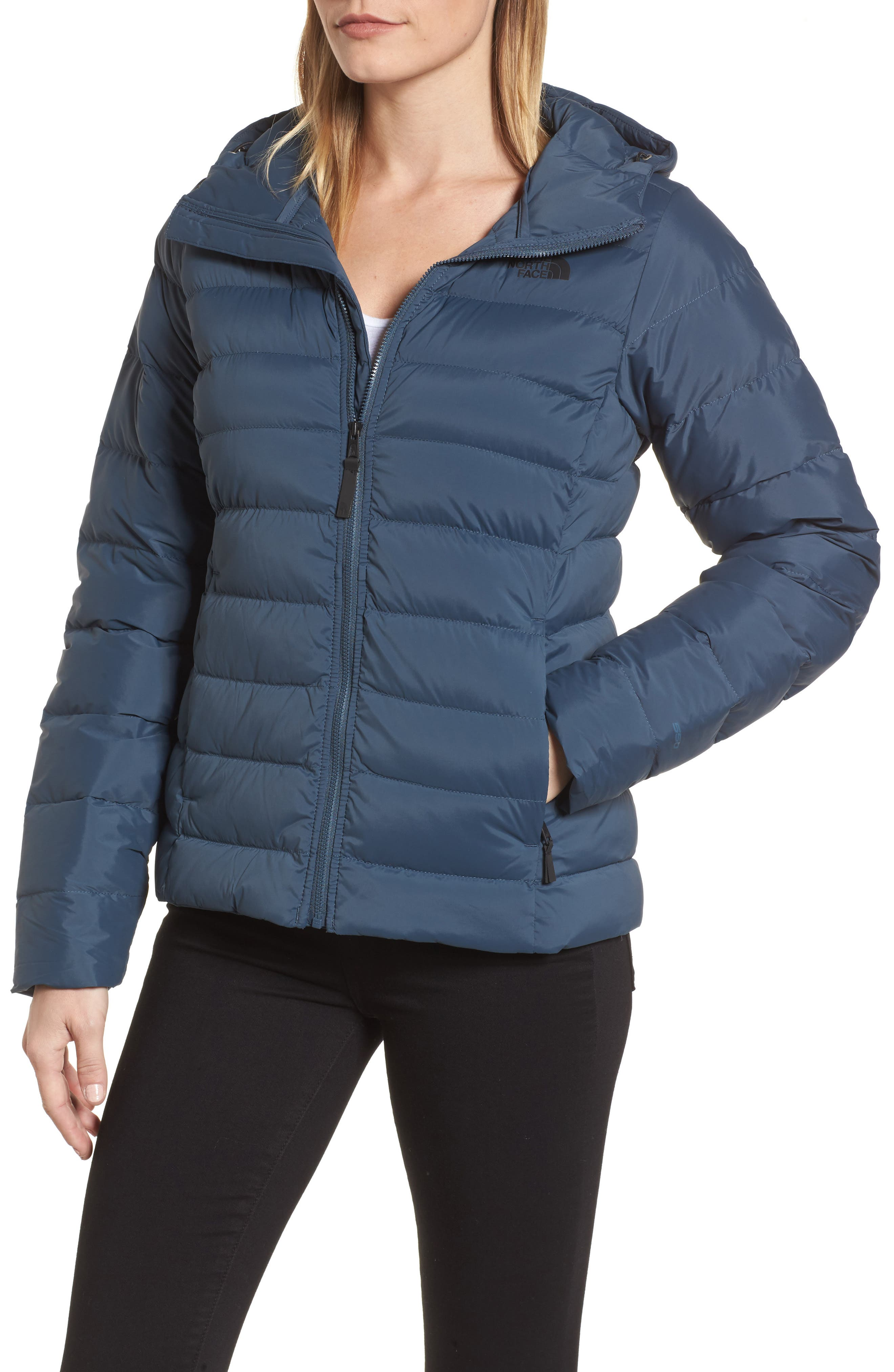 Alternate Image 4  - The North Face W Hooded Stretch Down Jacket