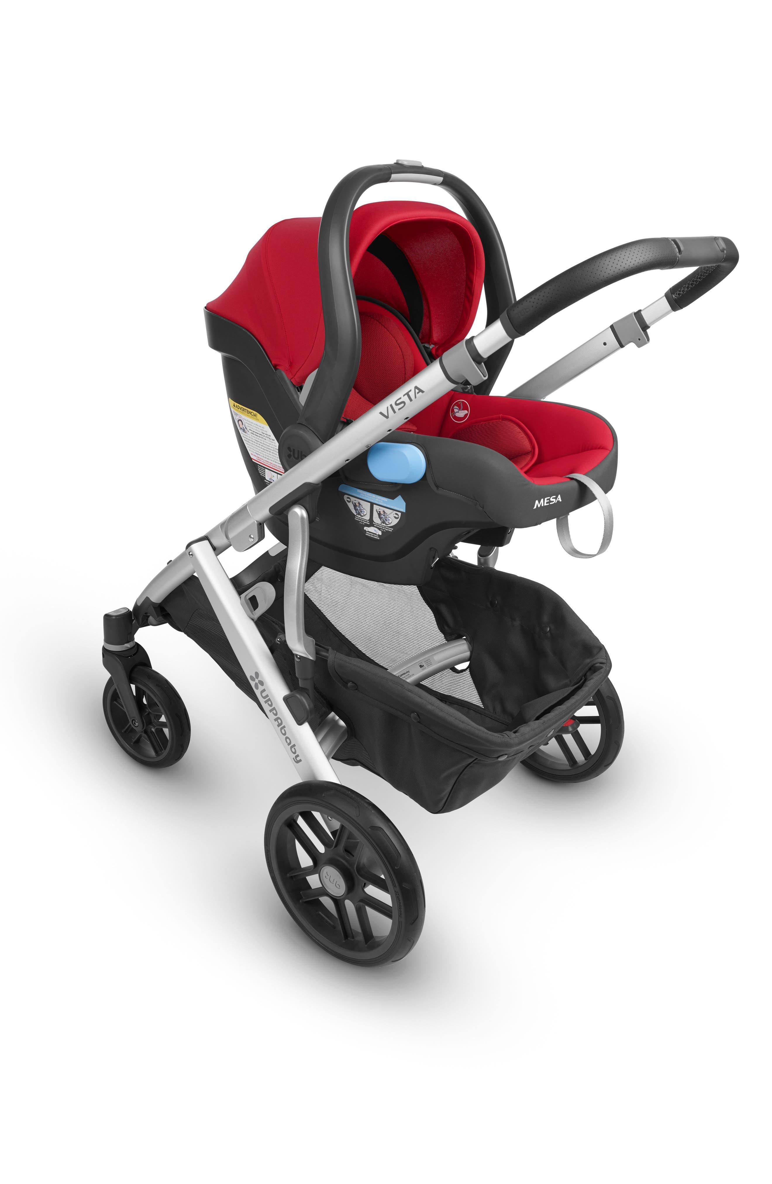2018 MESA Infant Car Seat,                             Alternate thumbnail 2, color,                             Denny Red