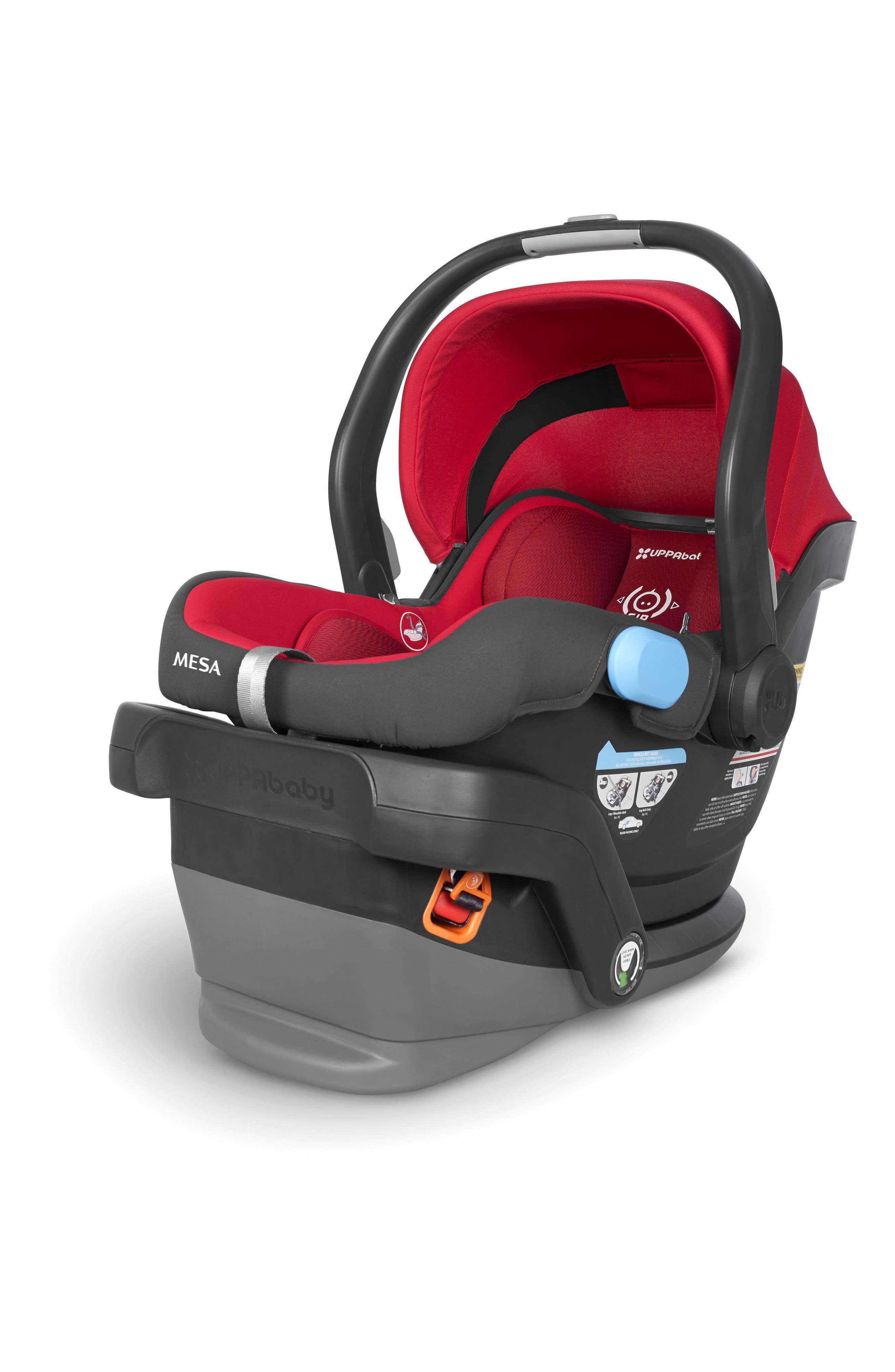 2018 MESA Infant Car Seat,                             Alternate thumbnail 6, color,                             Denny Red