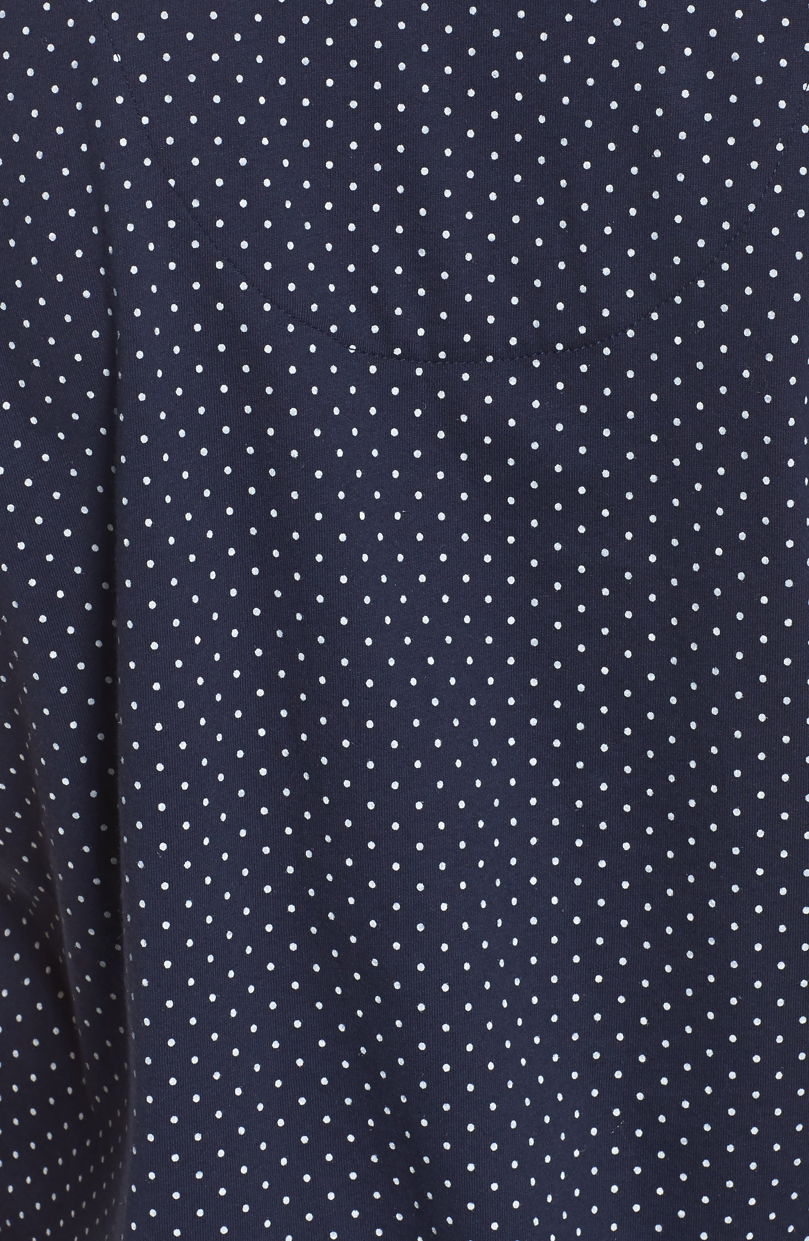 Bermuda Pajamas,                             Alternate thumbnail 5, color,                             Navy Dot