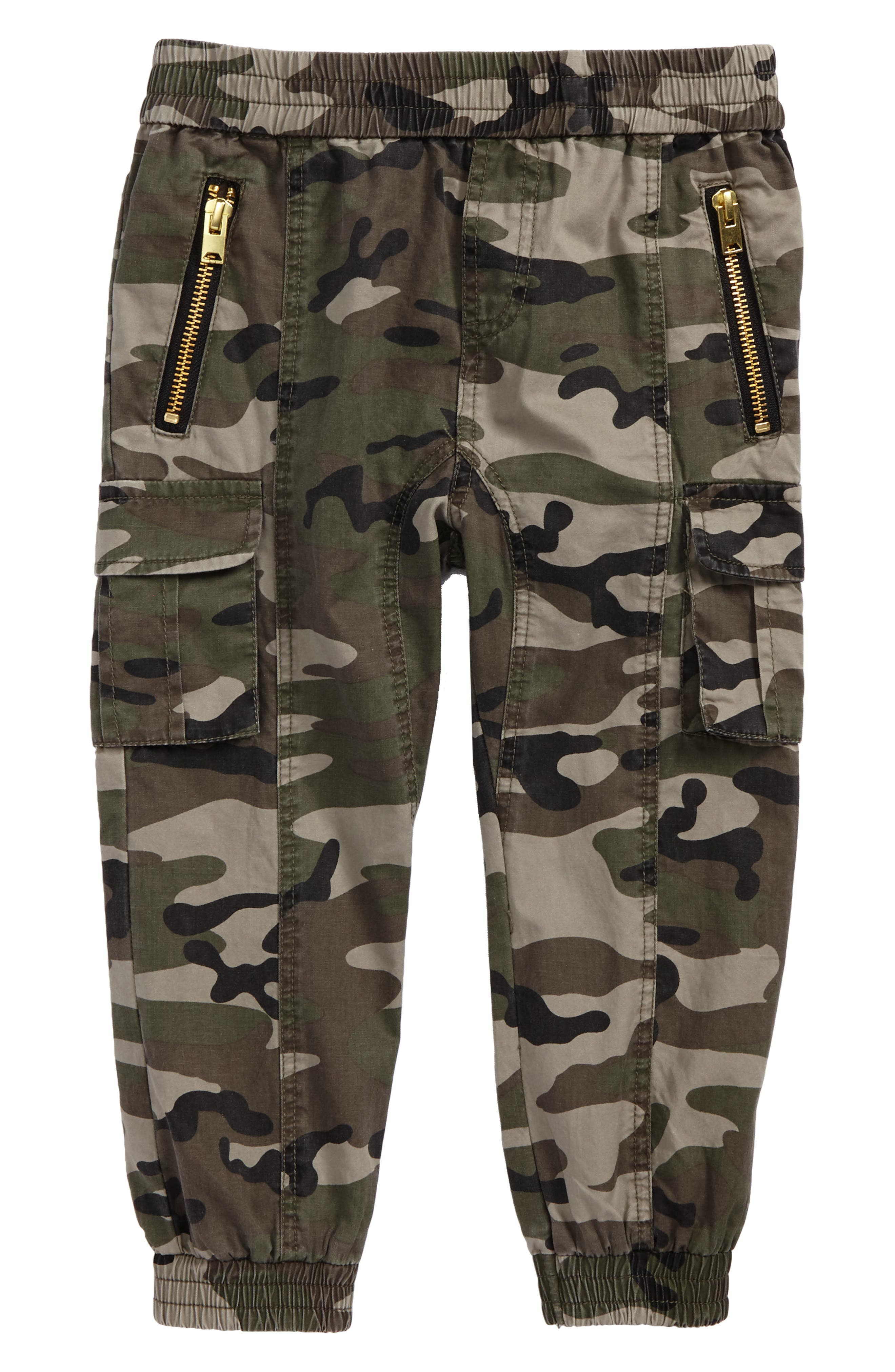 Bardot Junior Camo Slouch Pants (Baby Boys & Toddler Boys)