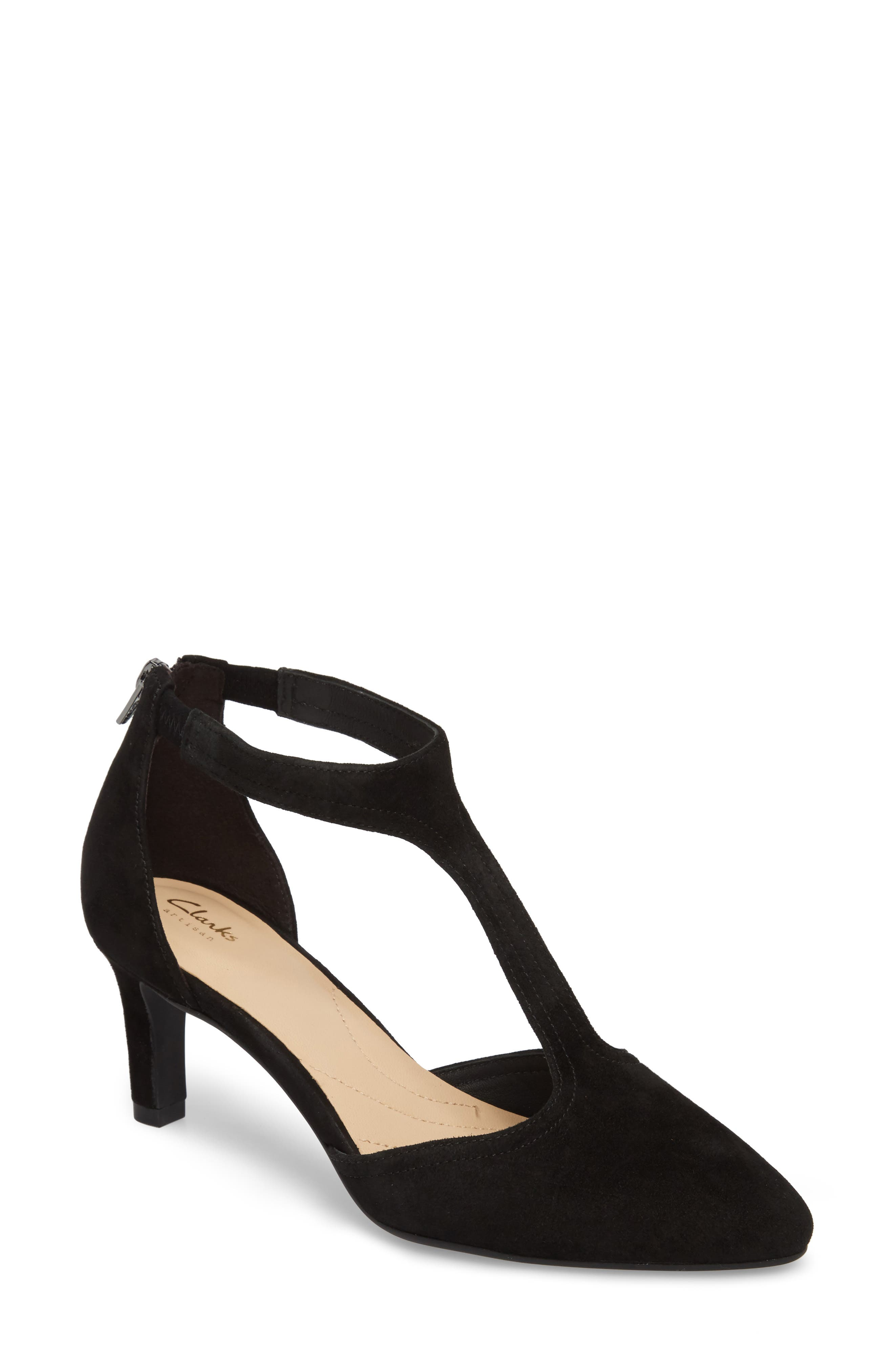 Alternate Image 1 Selected - Clarks® Calla Lily Pump (Women)