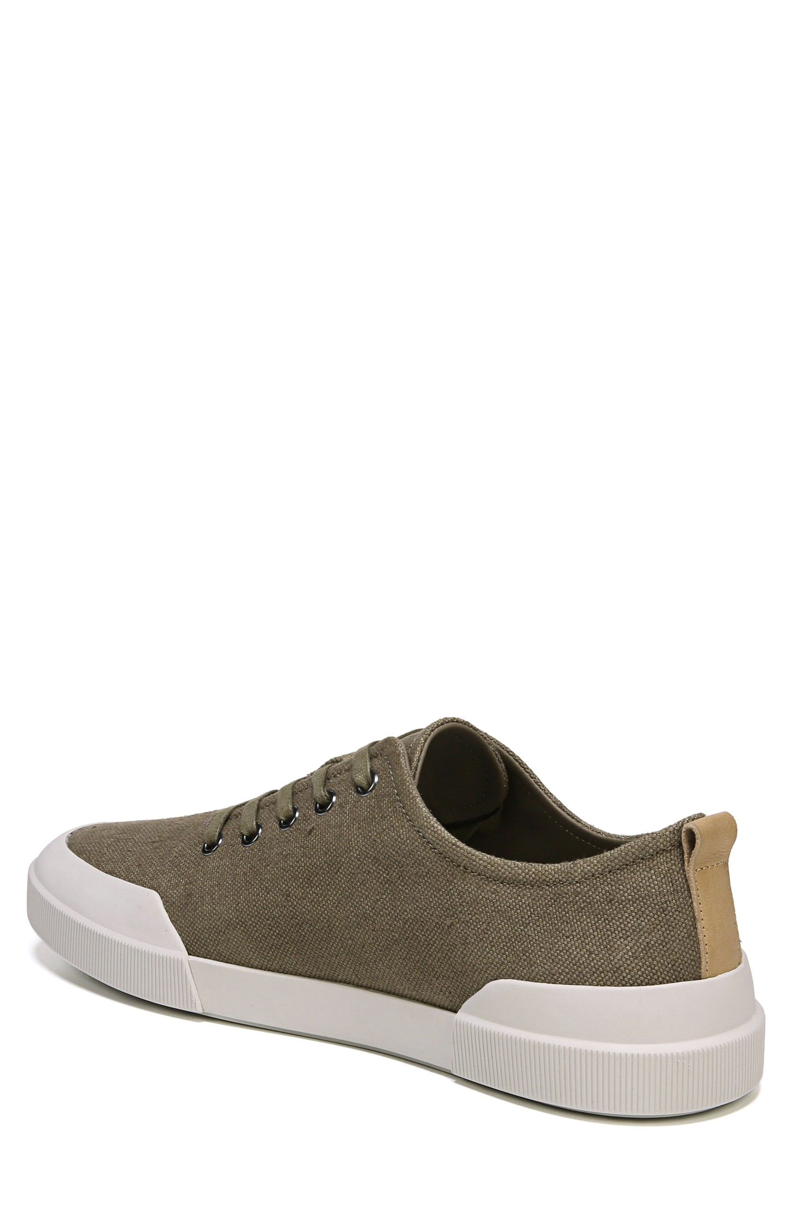 Victor Low Top Sneaker,                             Alternate thumbnail 2, color,                             Flint/ Cuoio