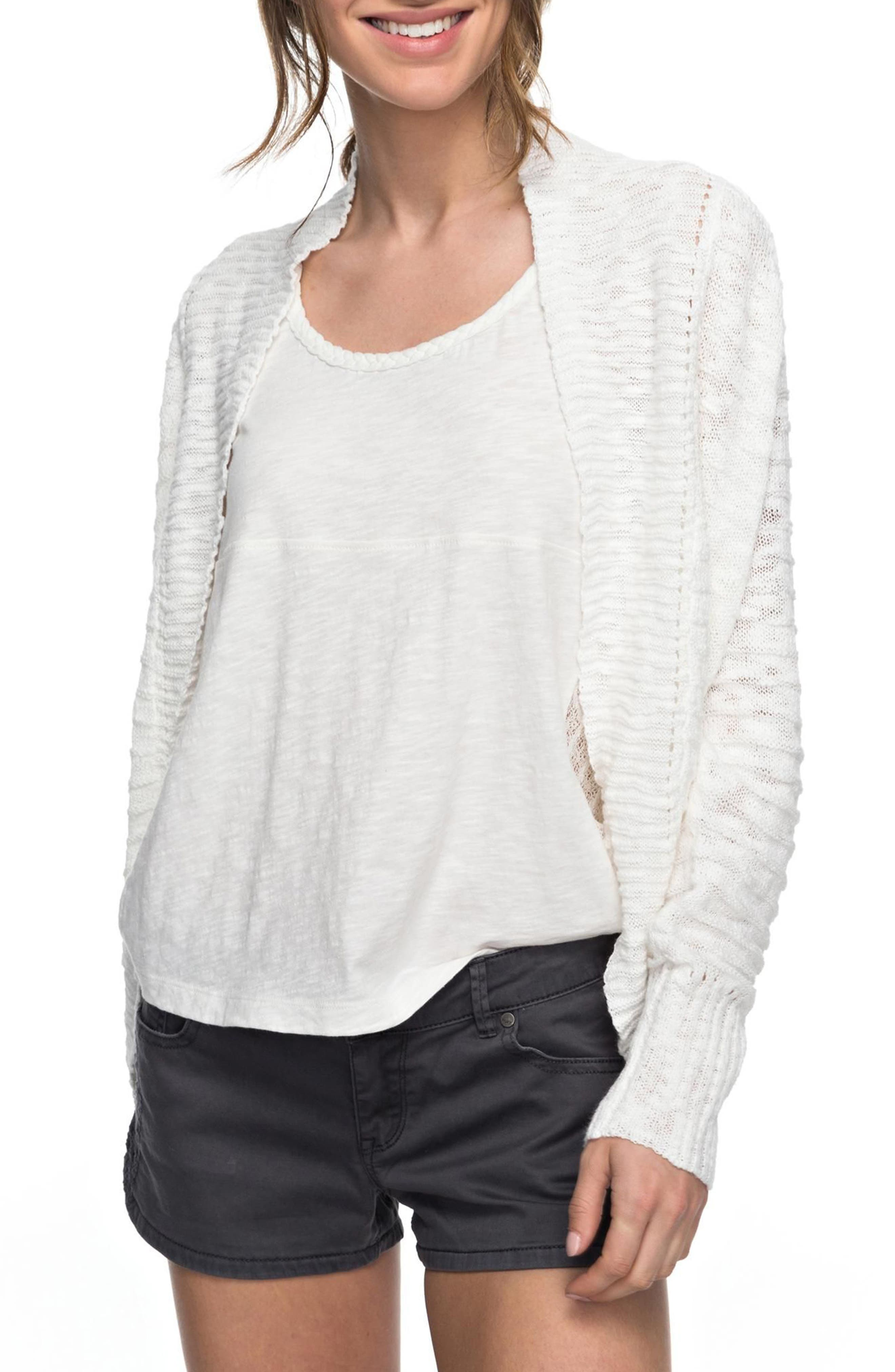 Let's Go Anywhere Cardigan,                         Main,                         color, Marshmellow