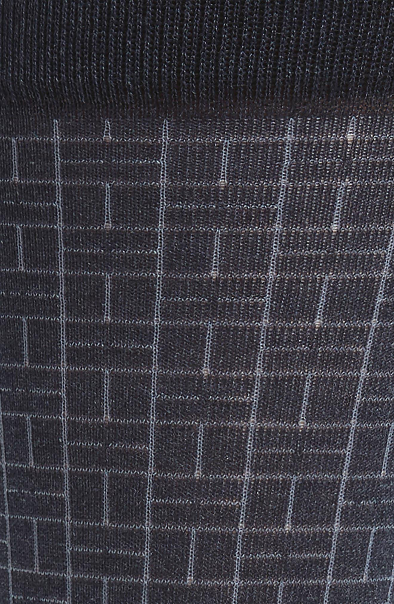 Domino Socks,                             Alternate thumbnail 2, color,                             Blue Denim