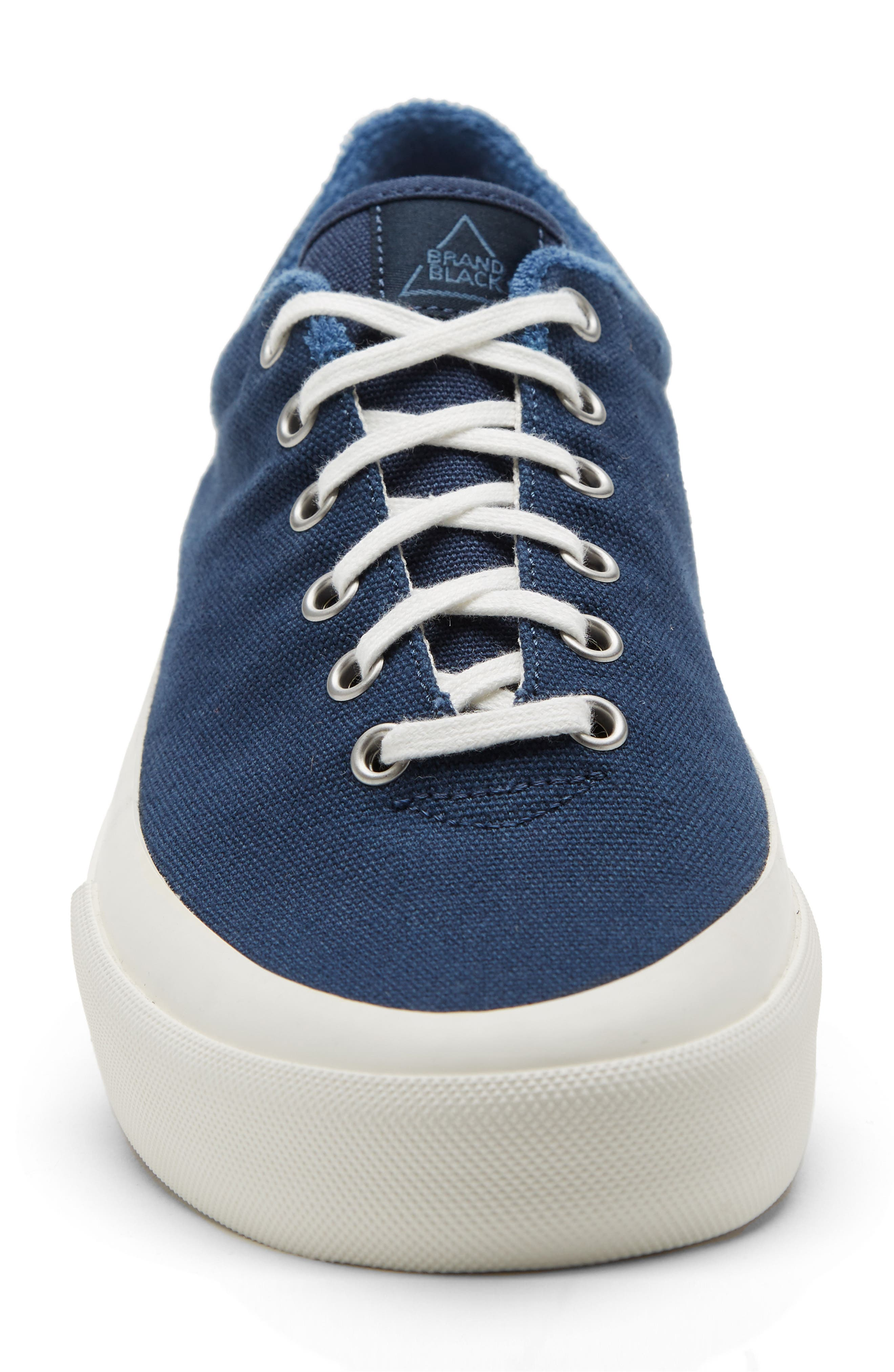 Vesta Low Top Sneaker,                             Alternate thumbnail 4, color,                             Navy