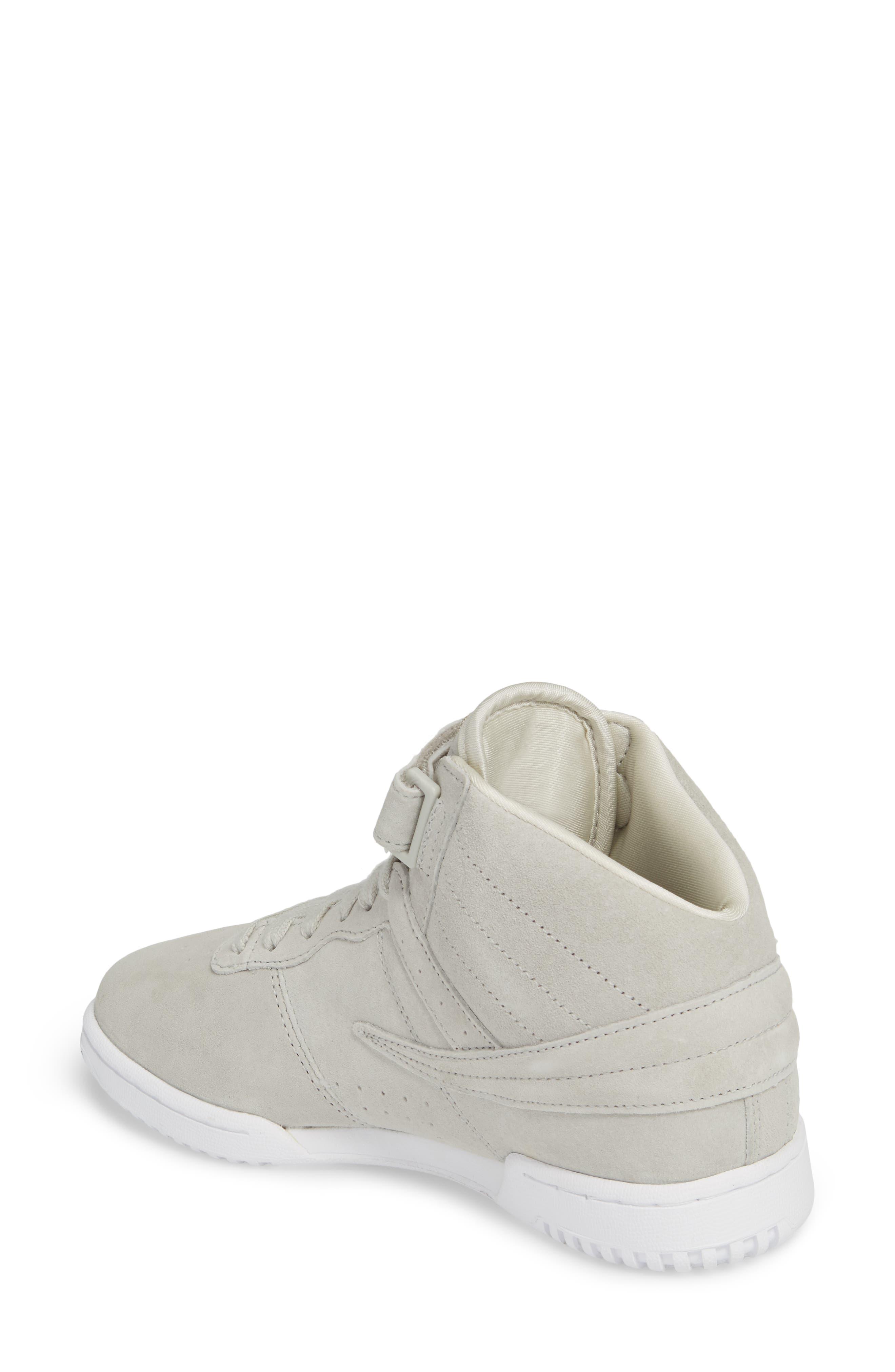 F-13 Premium Mid Top Sneaker,                             Alternate thumbnail 2, color,                             White