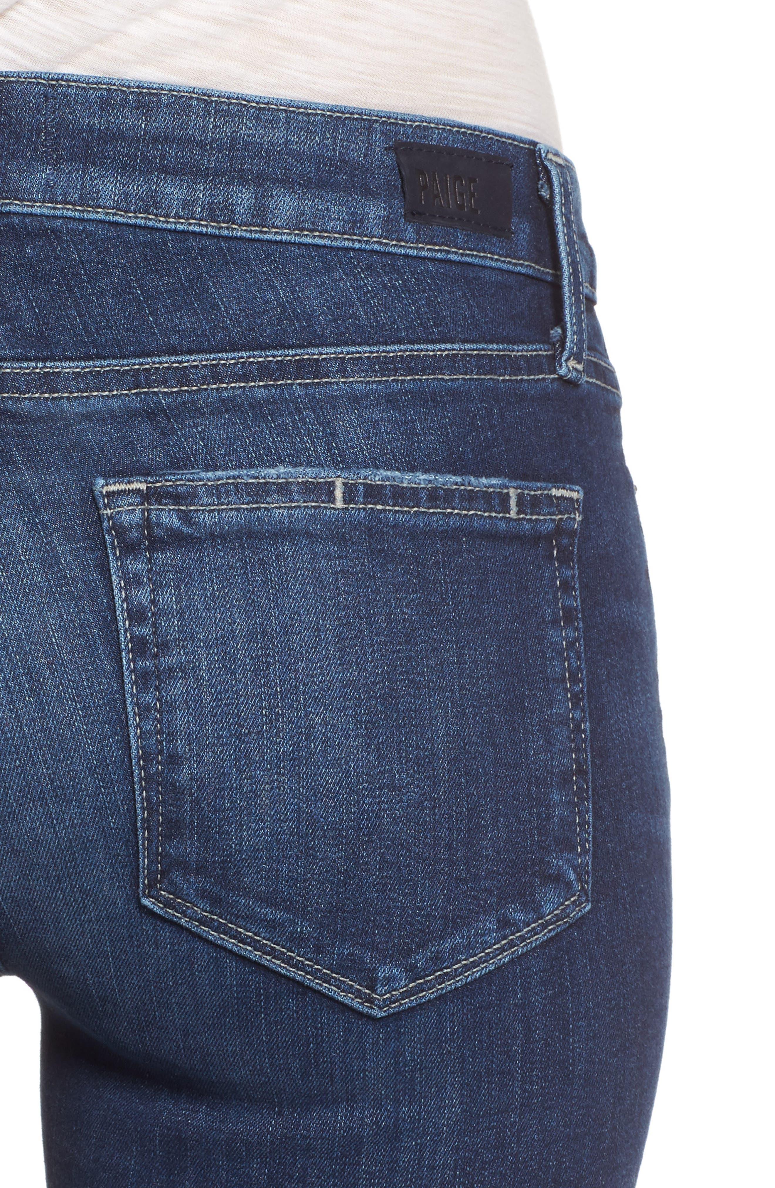 Transcend - Skyline Crop Skinny Jeans,                             Alternate thumbnail 4, color,                             Kylen