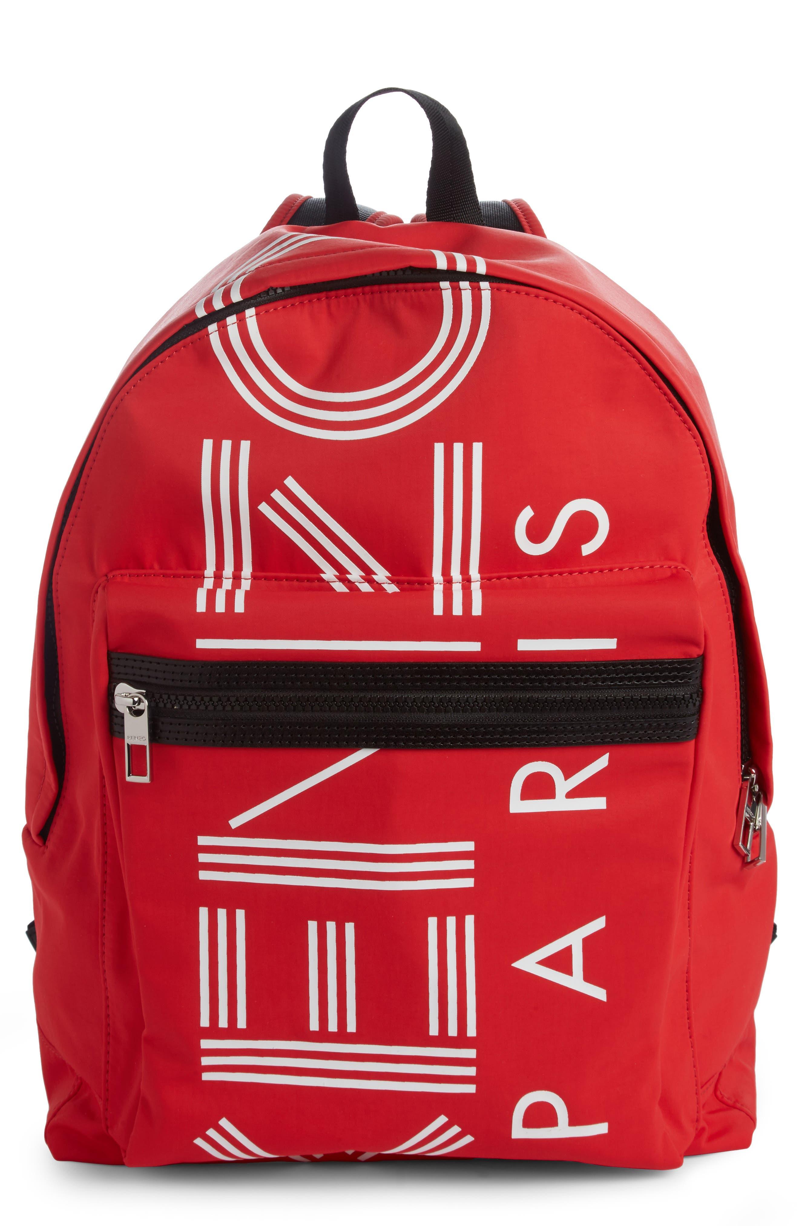 Main Image - KENZO Sport Logo Nylon Backpack