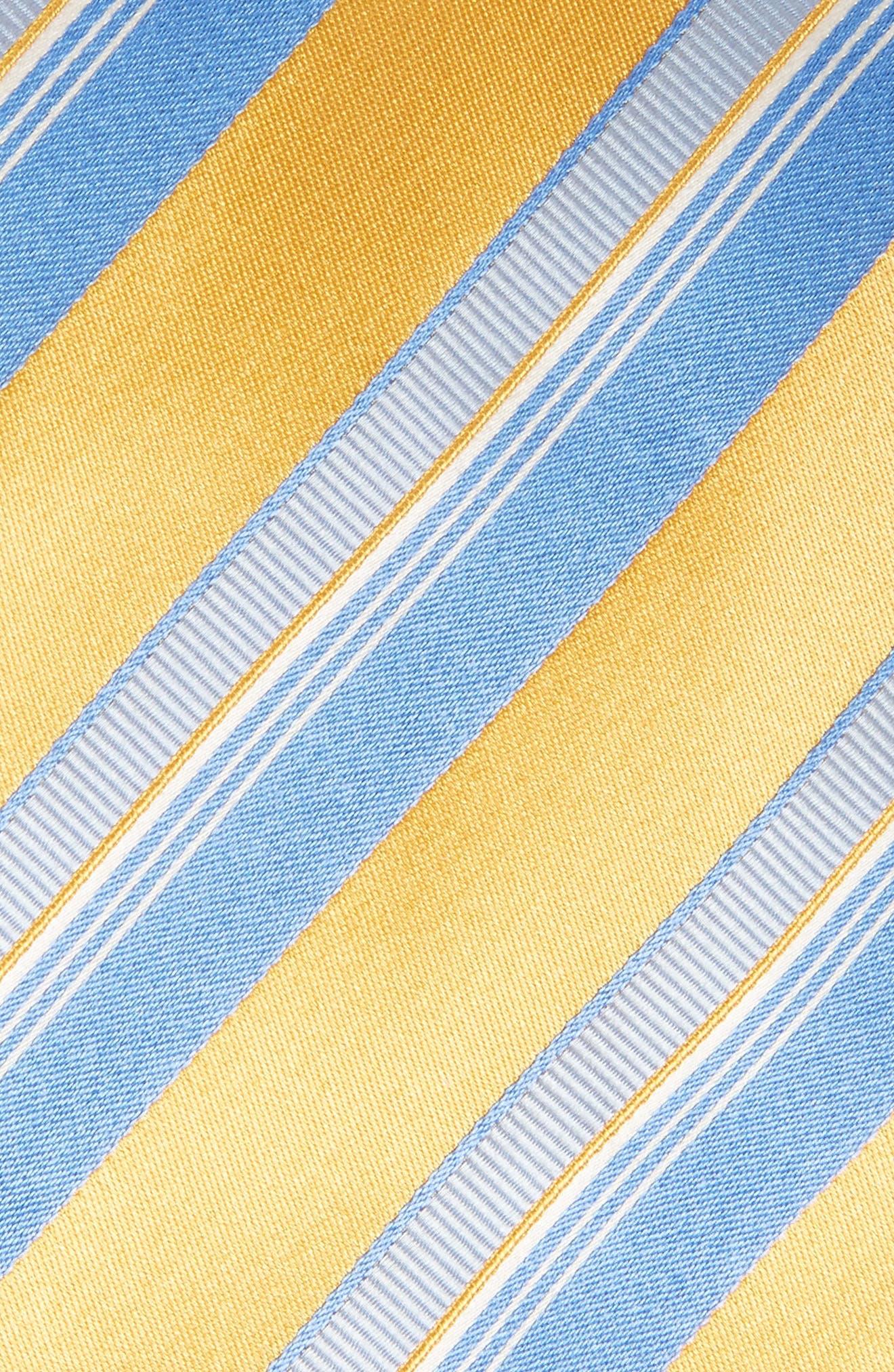 Alternate Image 2  - Canali Stripe Silk Tie